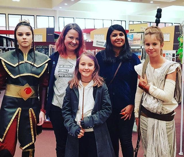 Happy Wangaratta GeekCon! Had a great time chatting to @missmisch77 and meeting these rad cosplayers!