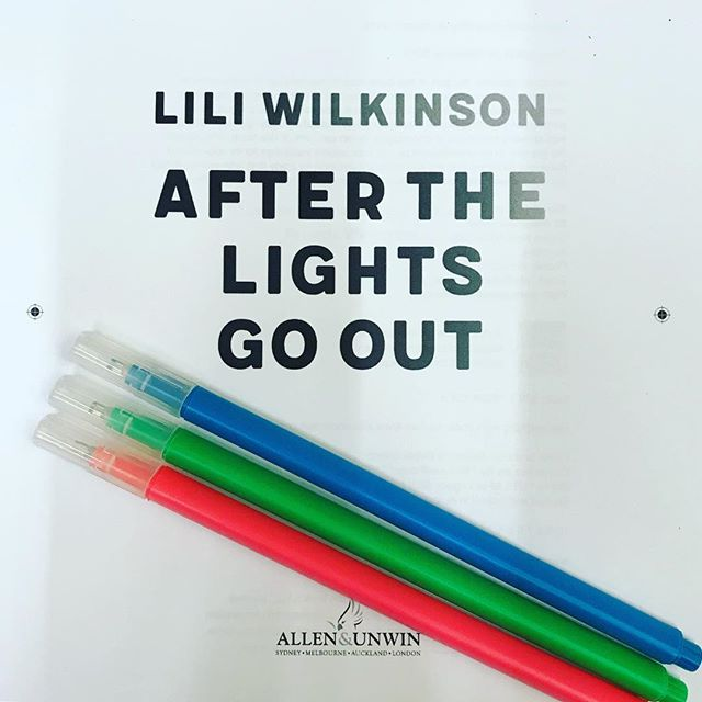 I'm going in. Wish me luck. #proofread #afterthelightsgoout