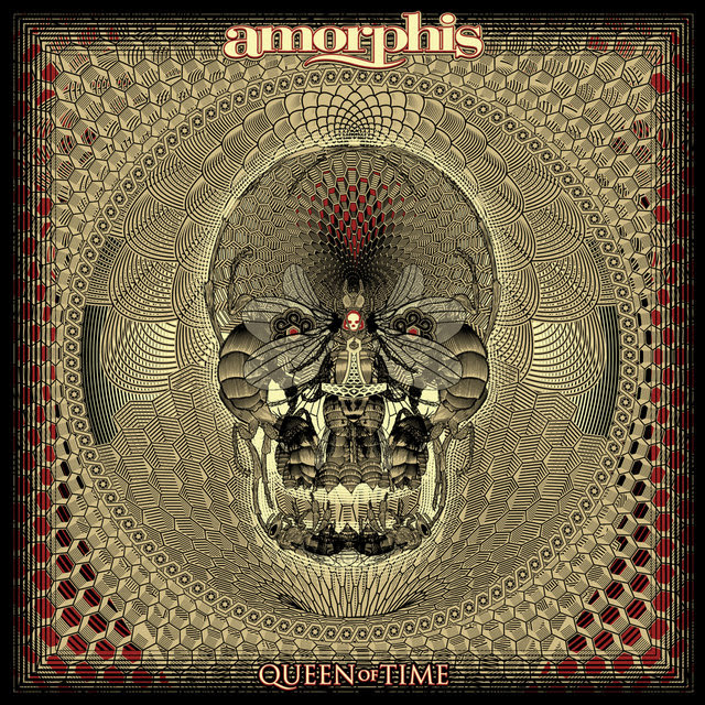"""Melancholic progressive metaller  AMORPHIS  are about to unleash their latest offering entitled   Queen Of Time  on May 18th via  Nuclear Blast . Today the time has come to present the first taster of the band's 13th studio album. Check out  'The Bee' , the opening track, here: https://youtu.be/xf_4uvymwRw   Guitarist  Esa Holopainen commented: """"This song is a very powerful opener and gives a nice picture of what the whole album is all about. You can already hear some new elements like choirs and orchestral arrangements in it.""""  Vocalist  Tomi Joutsen added: """"Of course, the lyrical inspiration is a bee, also in a metaphoric way. The tiniest thing can sometimes be the most important thing. A bee can bring life or if we destroy all the bees, life will stop here. It's a very beautiful animal, that's why you can find it on the album cover too. The track itself is a kind of progressive and I'm sure that it will surprise some fans in a positive way. We love it!""""  In addition, the album is available for pre-order in various formats, here: http://nuclearblast.com/amorphis-queenoftime   Pre-order digitally to receive  'The Bee' instantly or stream the track, here: http://nblast.de/AmorphisTheBee   Pre-save the album via  Topsify , here:  https://tools.topsify.com/follow/6834/pre-save-queen-of-time-by-amorphis   Listen to  'The Bee' in the  NB Novelties Playlist : https://open.spotify.com/user/nuclearblastrecords/playlist/6aw9wiedFzzhJiI96DhNhw     Queen Of Time  track listing: 01. The Bee 02. Message In The Amber 03. Daughter Of Hate 04. The Golden Elk 05. Wrong Direction 06. Heart Of The Giant 07. We Accursed 08. Grain Of Sand 09. Amongst Stars 10. Pyres On The Coast  Bonus Tracks (DIGI, 2LP, and MAILORDER EDITION only)  11. As Mountains Crumble 12. Brother And Sister  The album was once again produced by the famous  Jens Bogren  ( OPETH,AMON AMARTH,KREATOR a.o.). The cover artwork, which was created by French artist  Jean """"Valnoir"""" Simoulin from  Metastazis , captures the """