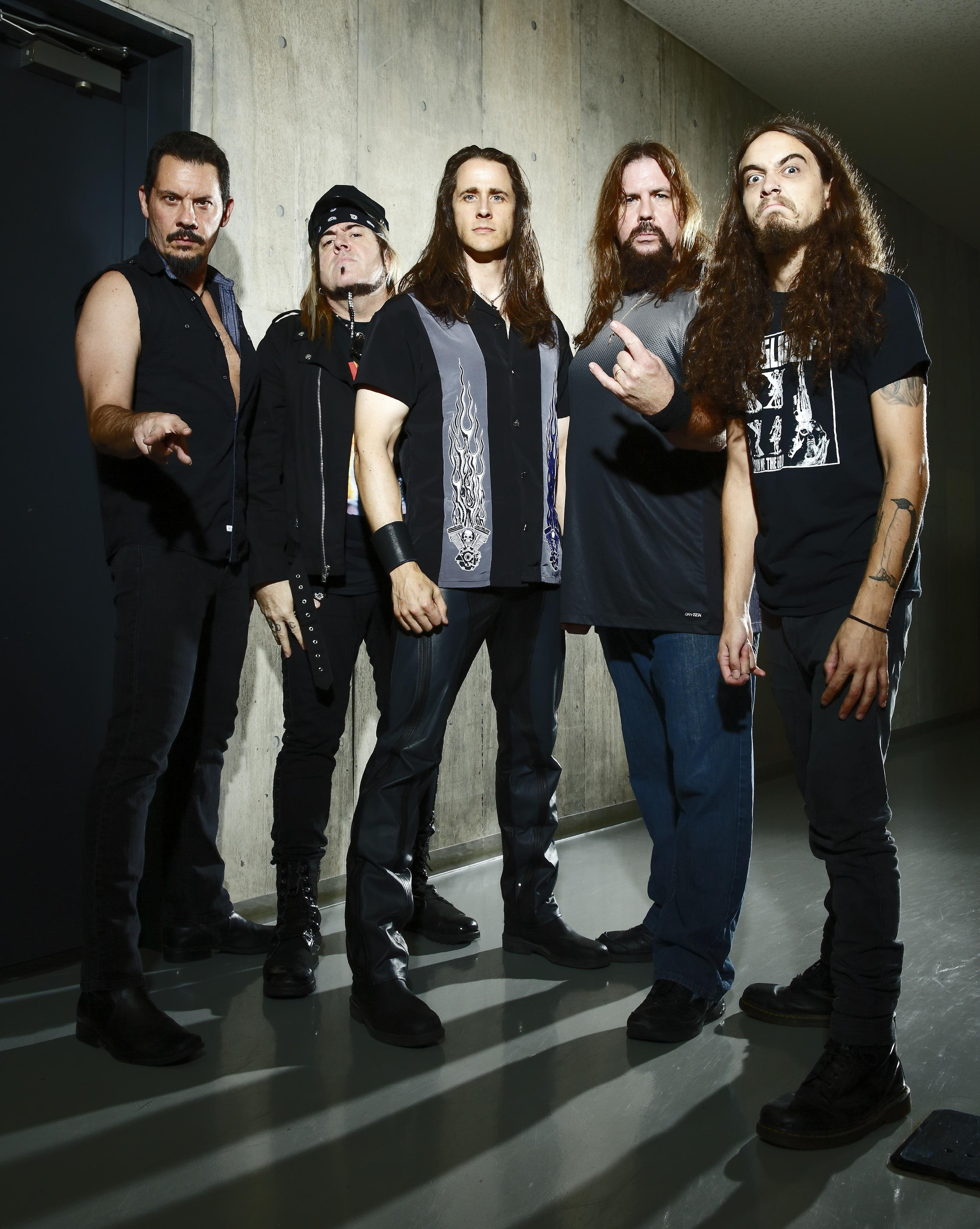 "Since their legendary debut album "" Rock City "" (1977),  RIOT  has released numerous heavy metal classics, including "" Fire Down Under "" (with classics like "" Swords And Tequila ""), their masterpiece "" Thundersteel "" (1988), and the unforgotten "" The Privilege Of Power ""(1990).  After the death of  Mark Reale  and the departure of  Tony Moore ,  Todd Michael Hall  (from Michigan, USA), completed the line-up of the band, which in the meantime performed under the name of  RIOT V  under the auspices of the two long term members and main songwriters  Donnie van Stavern  (bass) and  Mike Flyntz  (guitar). With the critically acclaimed "" Unleash The Fire "" (2014), a pure power metal jewel once again underlined the musical importance and influence of the quintet.  Many artists name-check  RIOT  as an important influence of their musical career and have paid tribute to the power metal godfathers on multiple occasions. The list is long and includes several well-known acts such as  HAMMERFALL  (  Flight Of The Warrio   r ),  Luca Trill's RHAPSODY  (  Thunderstee l ),  AXEL RUDI PELL  (' Warrior' ) and newcomers such as  NIGHT DEMON  (  Road Racin  ),  ALPHA TIGER  (  Flight Of The Warrior  ),  SAVAGE MASTER  (  Swords And Tequila  ) and  STALLION  (  Rock City ) .   RIOT V  truely are metal soldiers and will keep marching and fighting the good fight to bring you the music you've come to know, love and expect from  RIOT V ."