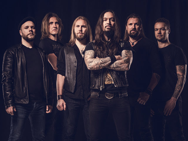 """Melancholic progressive metallers  AMORPHIS  are about to unleash their latest offering entitled   Queen Of Time  on May 18th via  Nuclear Blast ! Today, the band releases their third album trailer, talking about the studio recordings and revealing first journalists reactions during the album presentation. Watch it now, here: https://youtu.be/YmwgLyhmL5w   In case you missed the first two album trailer, make sure you can catch it here: Trailer #1: https://www.youtube.com/watch?v=Q5190lgEEwU  Trailer #2: https://www.youtube.com/watch?v=uZisWEJNo68   Watch the video clip for the second single, 'Wrong Direction', featuring long-time lyricist  Pekka Kainulainen , here: https://www.youtube.com/watch?v=Bz9uAOM4DHo   Also check out the recently released lyric video for the debut single, 'The Bee' ,here: https://www.youtube.com/watch?v=xf_4uvymwRw   The album is available for pre-order in various formats (pre-order digitally to receive  'The Bee' instantly), here: http://nuclearblast.com/amorphis-queenoftime  Pre-save the album via  Topsify , here: https://tools.topsify.com/follow/6834/pre-save-queen-of-time-by-amorphis     Queen Of Time - Track Listing:  01. The Bee 02. Message In The Amber 03. Daughter Of Hate 04. The Golden Elk 05. Wrong Direction 06. Heart Of The Giant 07. We Accursed 08. Grain Of Sand 09. Amongst Stars 10. Pyres On The Coast  Bonus Tracks (DIGI, 2LP, and MAILORDER EDITION only)  11. As Mountains Crumble 12. Brother And Sister  The cover artwork, which was created by French artist  Jean """"Valnoir"""" Simoulin from  Metastazis , captures the feeling of the lyrics and the music. With  Pekka Kainulainen 's (lyricist) words, the lyrical theme is universal: """"Cultures rise, flourish, and are destroyed. The story of man is the story of searching, finding, and forgetting. A single spark can set the world afire, a single idea can give birth to a new culture. The greatest can stagnate into insignificance, the smallest can hold the power for change. The lyrics on this"""