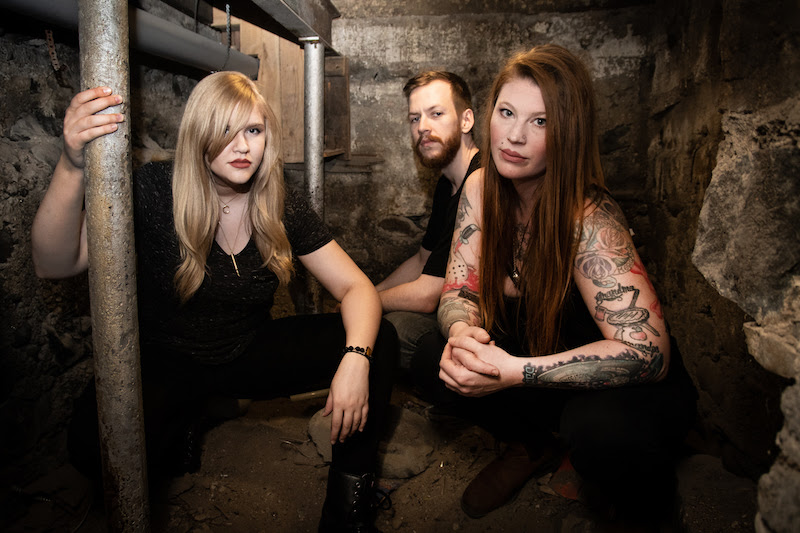 "Photo Credit: Whitney South  With Decibel Magazine praising their upcoming EP, ""Touch Taste Destroy"", as ""three tracks of hefty doom brimming with psychedelia and melody"",  THE WHITE SWAN  are pleased to share the first listen with the debut of the EP's title track.     Take a listen below or via YouTube!   https://www.youtube.com/watch?v=wIaVwdso0rA     Founder and multi-instrumentalist/vocalist Mercedes Lander (KITTIE), gave us a deeper look into the meaning behind the song, stating:  "" 'Touch Taste Destroy' is about experiencing real romantic love for the first time. The kind of love that completely consumes you and ruins any idea of what you thought real love was like. The main riff came together very easily for me and was written on an Alvarez baritone acoustic on my couch in about 5 minutes. We had the middle part tucked away in our bank of riffs and it fit very well with the main bit of music. Lyrically, the song is quite sappy, which is an underlying theme with The White Swan in general, but I really wanted to keep the verses very dark sounding, to contrast the lyrical content, and the choruses a bit more intense but in the same dark vein as the verses. ""  Scheduled for release on September 7, 2018, pre-orders are available on digital download as well as   on special limited-edition gold variant vinyl via War Crime Recordings. Pre-order your copy now at   http://smarturl.it/TheWhiteSwan .    See  THE WHITE SWAN  live this Fall as they embark on a series of headlining dates across Canada and the U.S.! 8/31    Windsor, ON - Phog Bar 9/5      Champaign, IL - Blips & Chitz (w/StagHorn & Close The Hatch) 9/6      Dayton, OH - Blind Bob's (w/Close The Hatch) 9/7      Decatur, AL - The Jam Shop (w/Close The Hatch & I Am The Law)  9/8     Murfreesboro, TN - Autograph Rehearsal Studio (w/Close The Hatch & I Am The Law) 9/29    Montreal, QC - Piranha Bar  Stay in touch with  THE WHITE SWAN  online for new music, shows and more at:  http://www.thewhiteswanband.com/   https://www.facebook.com/thewhiteswanband/   https://www.instagram.com/thewhiteswanband/"