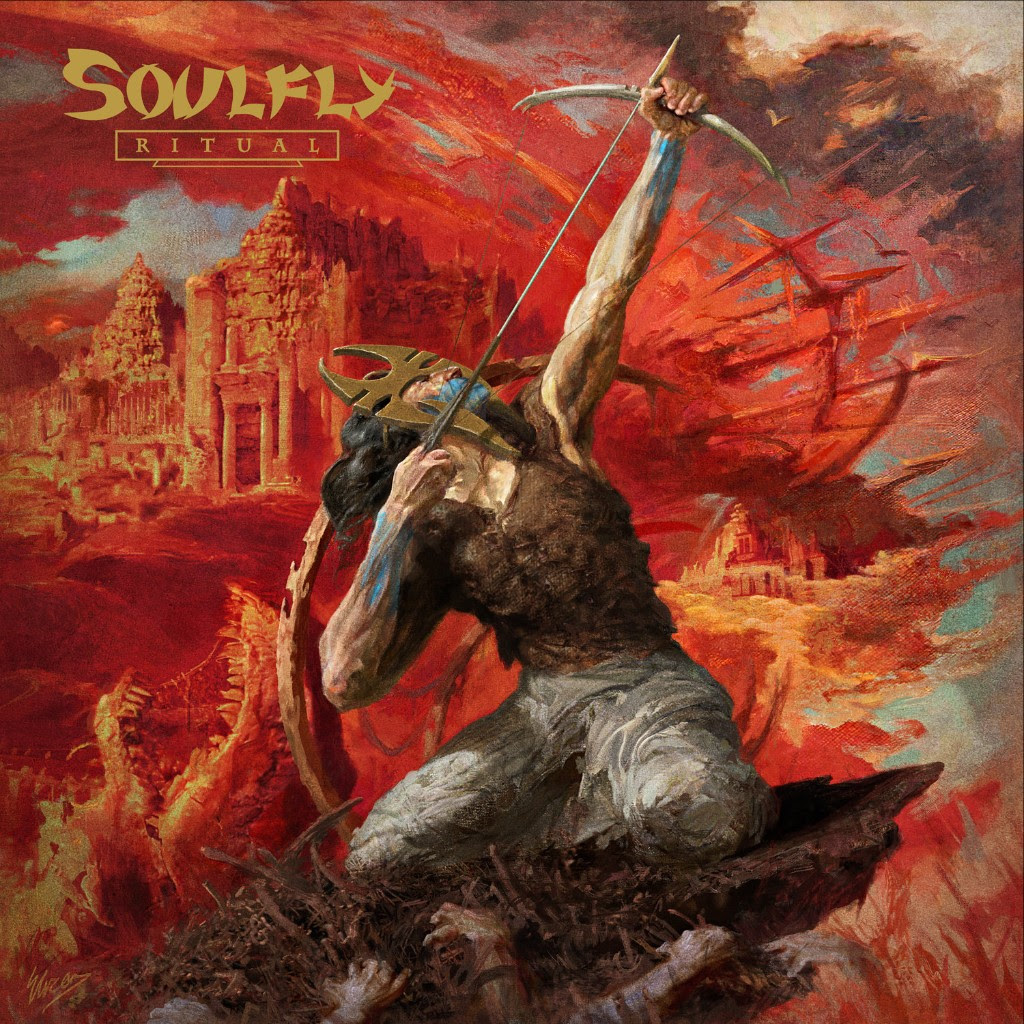 """Metal icons  SOULFLY are set to release their devastating new album   Ritual,  on October 19 via Nuclear Blast. Today, the band is pleased to reveal the first single from that soon to be landmark release. Check out """"Evil Empowered"""",here ( https://www.youtube.com/watch?v=HB7gYzoVUQw ).  Comments guitarist/vocalist  Max Cavalera : """"I am really stoked to be working again with two of my favorite artists, Eliran Kantor and  Marcelo Vasco ! The   Ritual  artwork is very mystic and captures the vibe of the album perfectly. For this one, we really tried to retain the groove of early  SOULFLY as well as my love for the heavy, fast stuff I'm into: like death and black metal and some hardcore. Working with  Josh Wilbur  for  SOULFLY this time around has been amazing. He's a huge fan and added a lot to the record. I would fight for the fast songs and he would always push me to add more groove. I think in the end we created a really cool mix of songs that covers a lot of ground in my career. Let the   Ritual  begin!""""  Producer  Josh Wilbur adds: """"Before I had ever recorded a record, in my formidable years, Max  released the holy trinity that was (at least to me)  Chaos A.D.  , Roots , and   Soulfly 1  . I wanted to make a record that captured what I loved about those when I was growing up! Those records inspired me and introduced me to heavy metal. Fast forward to now and I was given the opportunity to make the record I wanted as an fan! So I set up some mics, recorded some riffs, we banged on some galvanized metal,roto toms, djembes, and anything else we could get, then I told Max to 'BRING DA SHIT'!""""    Ritual   was produced,recorded and mixed by  Josh Wilbur  ( KILLER BE KILLED , LAMB OF GOD , GOJIRA). Cover artwork was painted by artist Eliran Kantor ( TESTAMENT , ICED EARTH , SODOM ). Additional booklet art was handled by  Marcelo Vasco ( SLAYER , HATEBREED , KREATOR ), who also handled the package design. The album features multiple guests including  Randy Blythe ( LAMB OF"""