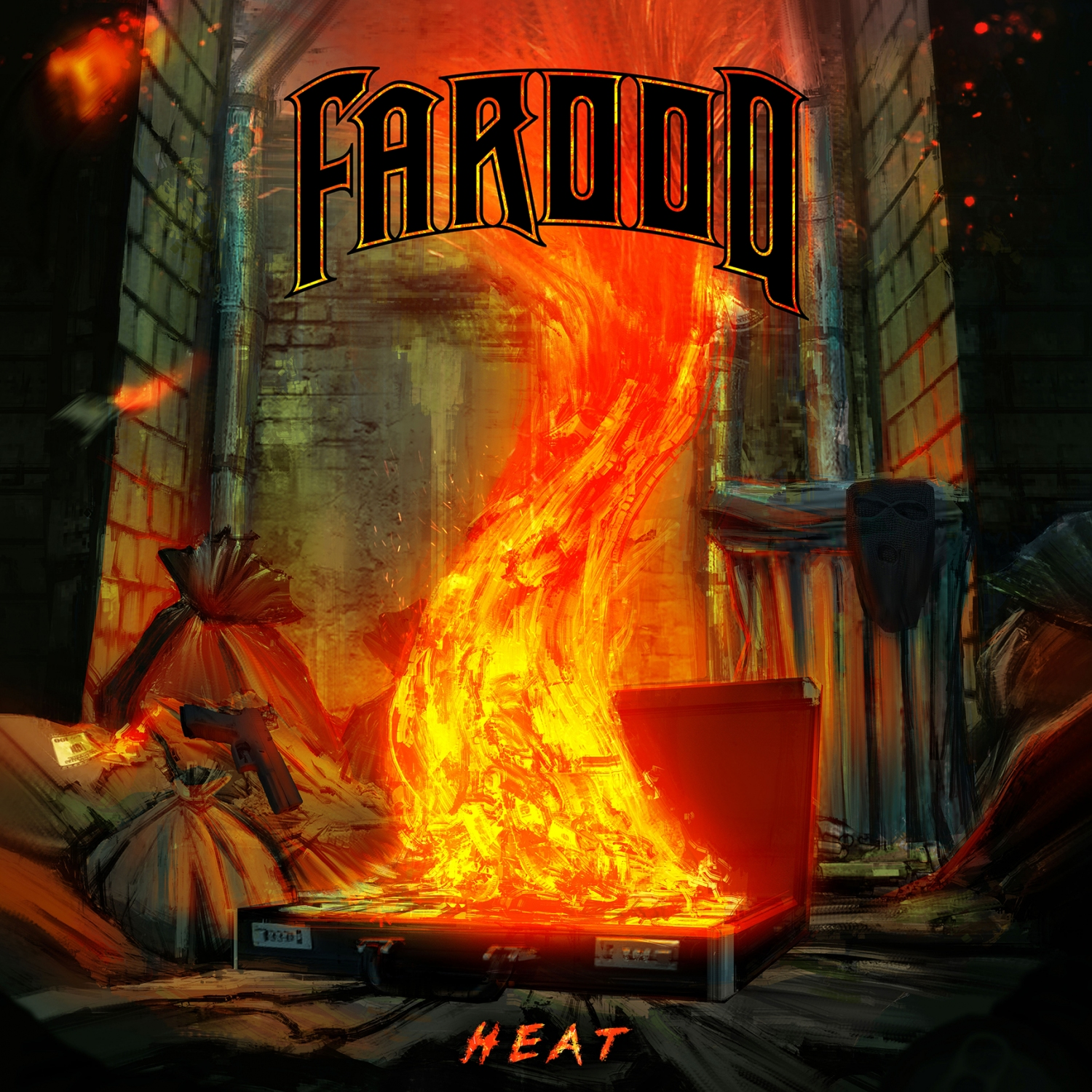 Every once in a while there comes a band that'll put out an album that will just blown your mind and get you pumped for the pit. FAROOQ are that band. On Aug 24, 2018 they will be releasing their new album HEAT on Glacier Recordings.    At the start of pushing play, the entire album sparks the violent reaction of energy and emotion that I have sorely missed from music these days. Being a fan of hardcore and metal music, Farooq effortlessly blends these two genres to perfection while also being unique in their sound, by adding elements of hip hop and guitar wizardry. The album is simple, but yet it isn't which is hard t explain. The groove and balls to the wall attitude are genuine and forefront. Yet there are layers of complexity in terms of lyrics and musicianship.     Their latest single titled  Stone Cold Steve Hawking  is a perfect example of just how thought invoking they can be; tackling topics of religion using metaphorical scientific references. All the while you get pummeled by metallic riff driven guitars, down trodden bass and arm flinging drumming.    Their precious single happens to one of my favorite song off this release.  Owning It  has the speed, anger, beat downs and chaos that makes me want to get in the pit and lose my mind, not giving a fuck how old I am.     This album easily makes my top ten in recent memory. I can't thank FAROOQ enough for making an album that just blows my mind and makes me hopeful that the music I love is left in good and capable hands.      https://youtu.be/kHIz01qSt7g     Tracklisting:    1. Owning It    2. Get 2 Work    3. T.O.T.W. 2018    4. Mall Metal    5. The Story    6. Clown Clocks    7. One Nation Under    8. E-Male    9. It's 2AM Somewhere    10. Stone Cold Steve Hawking    You can find Faroog online at the following:     https://www.instagram.com/farooqmosh      https://www.facebook.com/farooqmosh      https://farooqmosh.bandcamp.com      http://www.glacierrecordings.com      https://www.facebook.com/glacierreco
