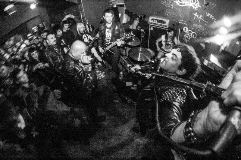 """[Photo by Carlos Garcia]   """"...one of the sickest hardcore crust records of 2019!"""" -- Cvlt Nation    Stream / Share ISOTOPE's """"Godless Blade"""" At   THIS LOCATION    Cvlt Nation is currently streaming """"Godless Blade,"""" the latest single from Bay Area hardcore punk unit ISOTOPE .  Featuring former members of Stormcrow, Sanctum, Acts Of Sedition, Femacoffin, and more, ISOTOPE will release their self-titled debut full-length this April via Carbonized Records, the new label imprint spearheaded by Necrot drummer Chad Gailey. Captured by Brad Lincoln at The SpaceOakland, California, mastered by Kenko at Communichaos Media in Gnesta, Sweden, with cover art by Adam Kindred, ISOTOPE spews forth eight ravenous tracks centered around war, violence, and a dying planet.  In advance of its detonation, Cvlt Nation delivers """"Godless Blade"""" for communal devourment gushing,  """"Remember the name ISOTOP E, because they have created one of the sickest hardcore crust records of 2019! This self-titled sonic weapon of destruction against all corruption is full of jams that are urgent and intense. ISOTOPE has conjured eight stench-filled anthems that I am going to have on repeat until the end of time.""""   Hear """"Godless Blade,"""" courtesy of Cvlt Nation, at   THIS LOCATION   .    Isotope will be released digitally and on LP in two color variants - black and orange and black half/half with gray splatter - via Carbonized Records with a cassette edition to see release this May. For physical preorders go to this LOCATION . For digital orders go HERE where second album track, """"M.A.N.I.C."""" can be streamed.  In conjunction with the album's release, ISOTOPE will play a handful of shows through Eugene, Portland, Vancouver, and Seattle with additional performances to be announced in the coming weeks.   ISOTOPE Record Release Tour:  4/03/2019 Spectrum - Eugene, OR 4/04/2019 Blackwater - Portland, OR 4/05/2019 CBDB's- Vancouver, BC 4/06/2019 Georgetown Liquor Company - Seattle, WA   ISOTOPE slowly alchemized f"""