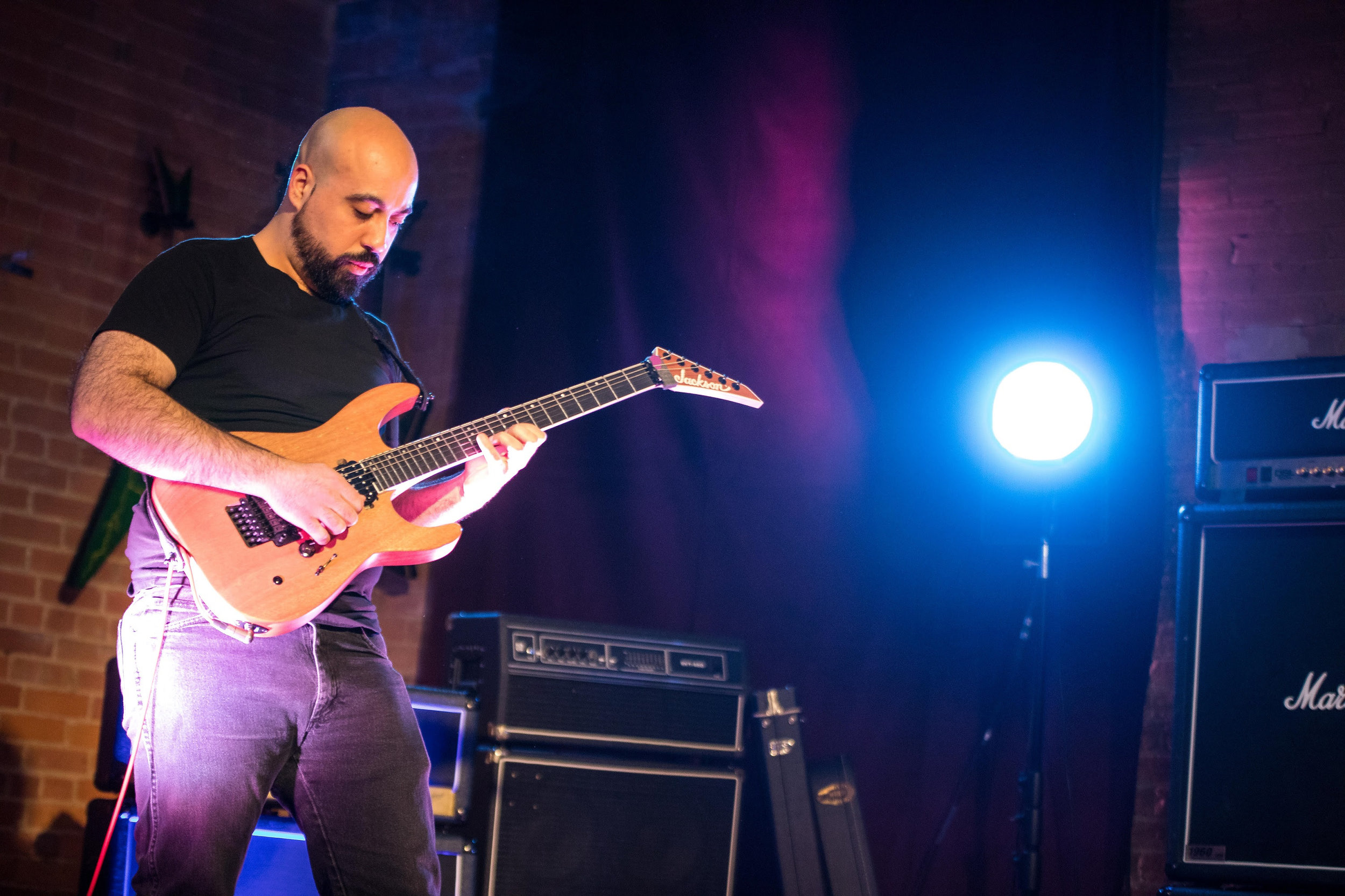"""Frankie Caracci , known for his guitar work in Canadian symphonic death metal band  Vesperia , has been simmering a side project entitled  """"Cellular Damascus""""  and is now ready to give listeners around the world a taste of what he's been doing on March 13, 2019.   """"Cellular Damascus""""  is an instrumental solo project that came to light after Caracci's win on season one of """"Shredders of Metal"""" presented by Banger TV. Technical, groovy and energetic,  """"Cellular Damascus""""  lets the listener focus on the guitar work that he takes great pride in orchestrating.   """"I want fans to have fun listening to it. I wanted to create interesting melodic phrases but still have heavy riffs to headband along with, shred hard but not lose sight of the music and try to have a clear mix where things aren't overly processed but all instruments/parts are still clear and audible.""""   Working consciously on each track, the scene for the album is a suspenseful set with """"So It Begins"""" and concludes majestically with """"Fall Of The Hammer"""". All four tracks on this debut flow together and show off excellent musicianship. Excited to be focusing on more solo work in the future, Caracci has confirmed another release in the future.    """"Cellular Damascus""""  is now out as of March 13, 2019, and available for stream and download on  Bandcamp ,  Spotify ,  Youtube ,  iTunes ."""