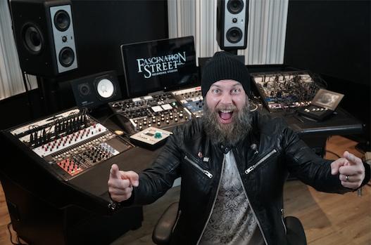 (Producer Jens Bogren ( AMON AMARTH , OPETH , SEPULTURA ) @ Fascination Street Studios in Sweden)