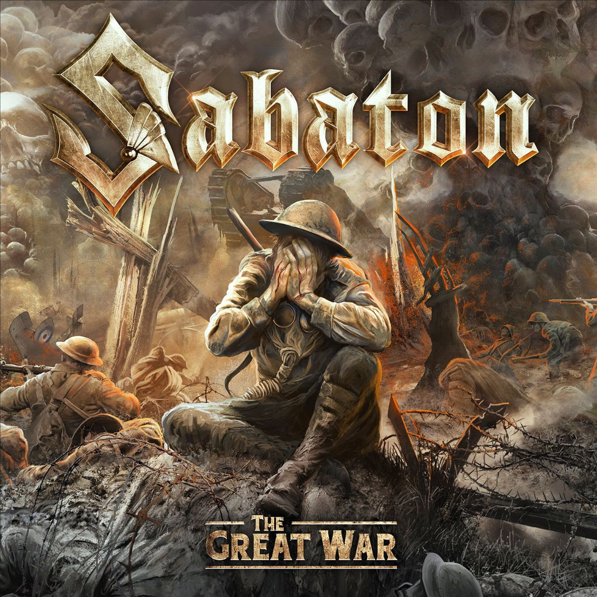 """The long wait is finally over: Today, the Swedish Metal Giants  SABATON  release their new album,   titled   The Great War  . To celebrate the occasion, they also unveil a stunning new lyric video for the song """" 82nd All The Way .""""  The lyric video will premiere on YouTube on Saturday at 11:00AM PT / 2:00PM ET. Login and set a reminder by clicking the bell:   https://www.youtube.com/watch?v=0LS0Z8fgiII     Pär Sundström  states:  """"We felt directly when we had recorded the album that the song """"82nd All the Way"""" was one of the absolutely strongest songs. It's why we selected this song to be representing the album release. It's fun to play, fun to listen to and for sure it will be a part of the setlist for upcoming shows for a very long time.""""   Get your copy of   The Great War   here:   http://www.sabaton.net/thegreatwar     The Great War   is now available on all digital music platforms. Listen now:   http://geni.us/SabatonTGWStandard    Get the song """" Great War""""  digitally here:   http://nblast.de/SabatonGreatWar   Listen in NB New Releases playlist:   http://nblast.de/SpotifyNewReleases   /  http://nblast.de/AppleMusicNewReleases    The release of  SABATON's  ninth full-length record perfectly coincides with the band's 20th anniversary and the concept album is based on events during the First World War. The band started the recordings exactly 100 years after the end of the First World War (11/11/1918) and took 3 months of intensive work to complete the album together with their long term producer and partner  Jonas Kjellgren  at  Black Lounge studios . Furthermore, the album has been mastered by  Maor Appelbaum  and the artwork was once again created by  Peter Sallaí .  """"This is not the first time we have sung about stories from this period in time, but now we felt the timing was right to make a full concept album about this war"""" , explain the band.     The Great War   tracklist: 01. The Future Of Warfare 02. Seven Pillars Of Wisdom 03. 82nd All The Way 04. The Att"""