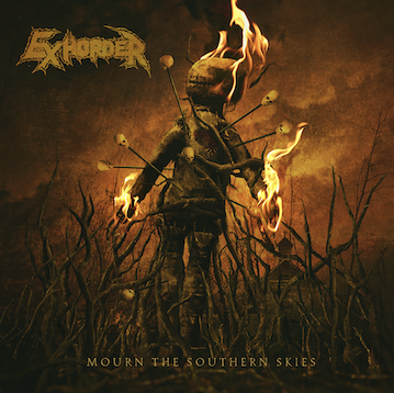 Mourn The Southern       Skies   Track Listing:  My Time  Asunder  Hallowed Sound  Beware the Wolf  Yesterday's Bones  All She Wrote  Rumination  The Arms of Man  Ripping Flesh   EXHORDER North American Tour Dates (w/KATAKLYSM):  Sep 4 – Joliet, IL – The Forge Sep 5 – Cave-In-Rock, IL – Full Terror Assault Sep 6 – Kansas City, MO – The Riot Room Sep 7 – Colorado Springs, CO – The Black Sheep Sep 8 – Denver, CO – Oriental Theater Sep 10 – Seattle, WA – El Corazon Sep 11 – Portland, OR – Bossanova Ballroom Sep 12 – Oakland, CA – Metro Opera House Sep 13 – Los Angeles, CA – Union Sep 14 – San Diego, CA – Brick By Brick Sep 15 – Mesa, AZ – Club Red Sep 16 – El Paso, TX – Rockhouse Bar & Grill Sep 17 – Austin, TX – Come and Take It Live! Sep 18 – Dallas, TX – Gas Monkey Live! Sep 20 – Cincinnati, OH – Riverfront Live Sep 21 – Atlanta, GA – The Masquerade Sep 22 – Baltimore, MD – Soundstage Sep 23 – Brooklyn, NY – Market Hotel Sep 24 – Poughkeepsie, NY – The Chance Sep 25 – Reading, PA – Reverb Sep 26 – Worcester, MA – The Palladium Sep 27 – Quebec City, QC – Le D'Auteuil Sep 28 – Montreal, QC – Theatre Corona