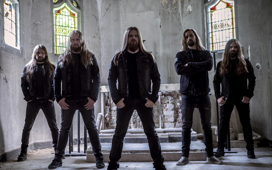 """[photo credit: Dawn of Disease]    Tracklisting and Cover Reveal Below    New Digital Single, """"Procession of Ghosts"""" and Official Video out Today     Pre-Orders    Available Now    Come and join the """"Procession of Ghosts.""""    DAWN OF DISEASE  return with their smashing new album, """" Procession of Ghosts """" – a phenomenal new melodic death metal album with more than enough energy to stand out from the masses. Accompanied by sinister artwork by Michał """"Xaay"""" Loranc, who has worked with bands like Behemoth, Nile, and Evocation, the album possesses significantly more atmosphere and catchy melodies without sacrificing the band's extreme spirit. Mixed and mastered by Jens Bogren and Linus Corneliusson at Fascination Street Studios (Amon Amarth, Kreator, Arch Enemy), Procession of Ghosts secures  DAWN OF DISEASE 's status at the forefront of German death metal bands. Melancholy meets relentless brutality, while hymnal passages, dark growls, fast riffs and catchy hook lines create a perfect sonic landscape.   DAWN OF DISEASE  says about the new album:  """" 'Procession of Ghosts' is our fifth full-length album, in which we again invested a lot of time, energy and emotions. But not only that: we've taken new paths on different levels. Starting with the great artwork of Michał """"Xaay"""" Loranc, to a more intense use of atmosphere in our songs, up to the collaboration with Jens Bogren and Linus Corneliusson from Fascination Street Studios for the refinement of the production. We can hardly wait for the release of the album and are already looking forward to presenting you the songs during our tour with Månegarm and Einherjer!"""""""