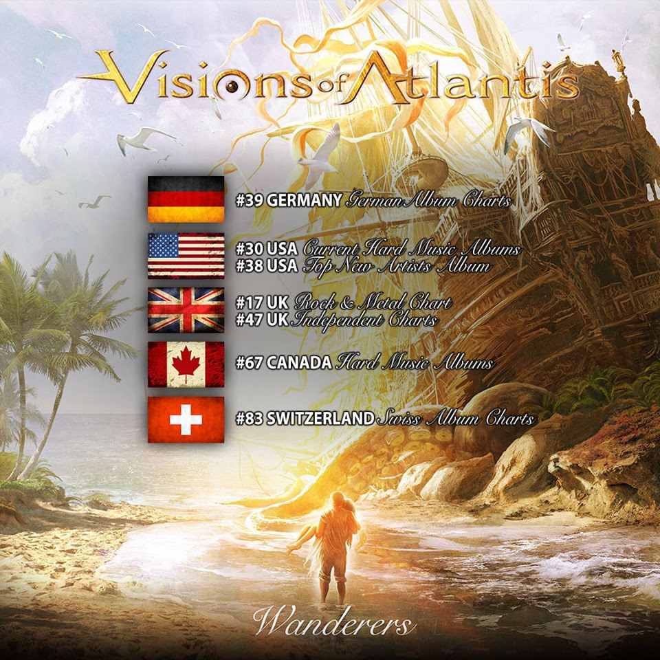 It's finally here, and transgresses borders of all imagination!  VISIONS OF ATLANTIS  released their spectacular seventh album on 30th August via Napalm Records. On  Wanderers ,  VISIONS OF ATLANTIS  unfold their unique concept that transcends the stylistic approach of symphonic metal with songs as  Heroes of the Dawn  or lyrical  Nothing Lasts Forever,  highlighting the power of spectacular vocal duets by Clémentine Delauney and Michele Guaitoli.  With each track, the listener will be blown away by captivating symphonic metal songs, exploring sides of the group the listener might yet not be familiar with.  VISIONS OF ATLANTIS  truly take the next step with this release, starting with a photoshoot on the shores of the North Atlantic that resulted in breathtaking pictures, lyrics that touch the heart and soul, and riffs that will take you on a journey to the world unknown.   Wanderers  is available as strictly limited Earbook edition, including 48 pages of pure  VISIONS OF ATLANTIS  art, a bonus CD and an exclusive 7'' vinyl. Singer Clémentine Delauney shows you what this all includes in this video: