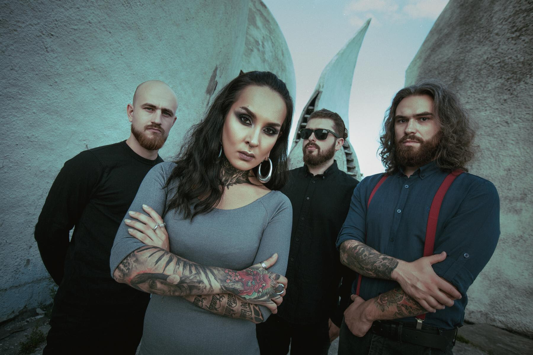"[ photo by Tementiy Pronov ]   ""A cocktail of modern prog metal, 'Macro' is the album where Jinjer show us what the future of heaviness sounds like.""  -  Loudwire   Ukrainian modern metal frontrunners  JINJER  have returned with a vengeance! Today,  JINJER  turns heads with a new music video for the gut-punching anthem  ""On The Top"" . Never failing to deliver an unforgettable hook,  ""On The Top""  slinks along a punishing groove before soaring into melodic passages – just another example of what listeners can expect to be met with on the band's upcoming full-length album,   Macro  , out October 25, 2019 via Napalm Records.    ""While one is climbing, the rest is falling down in the name of profit – Is it lonely on the top?""    JINJER   says about  ""On The Top"" :   ""Have you ever felt like a rat in a rat race? It seems like the world is spinning faster and faster every single day and everyone is going crazy searching for this thing called success. However, we tend to forget that real happiness has nothing to do with it- not a career, achievements, money etc. Is it really worth climbing up the ladder just to be ON to the TOP if there is nothing or no one there for you in the end? It's OK to want to be the best you can possibly be but just remember that success has its price but it's up to you to decide how much you are willing to pay for it. It's your choice to make but your burden to bare …""    Watch  ""On The Top""     HERE     Stream  ""On The Top""  via All Platforms    HERE   !"
