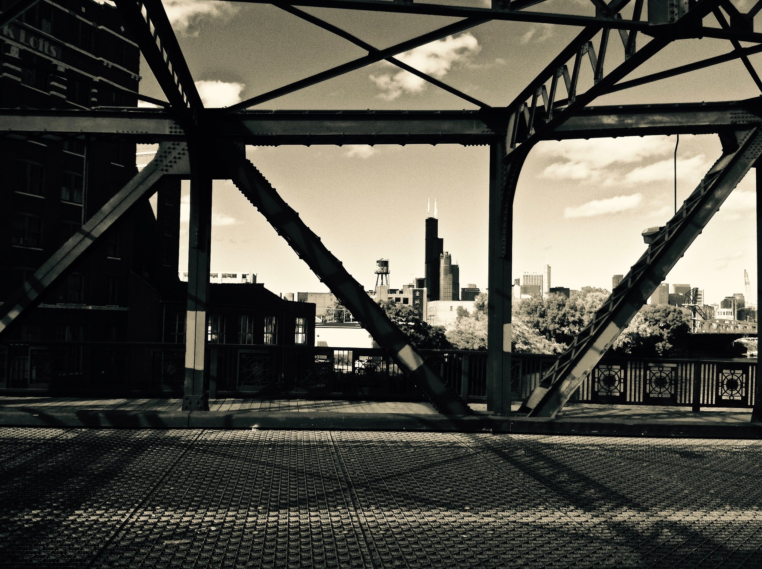 Cermak Road Bridge (Chicago), photograph, 2013