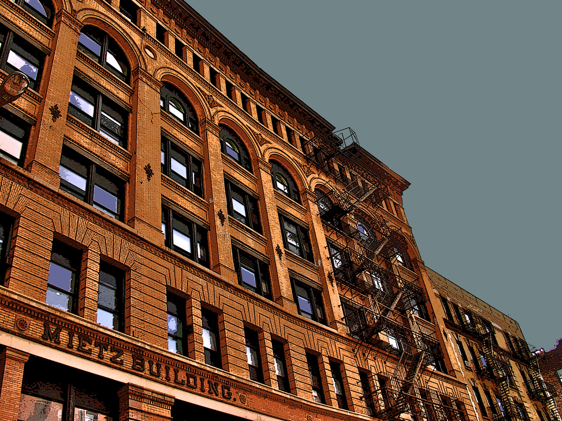Mietz Building (New York), digitally enhanced photograph, 2009.jpg