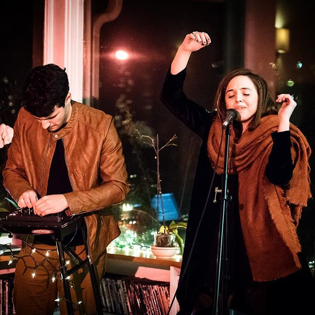 So grateful to wear matching outfits and make music with this guy. // 📷 @philstogramm at @sofarseattle