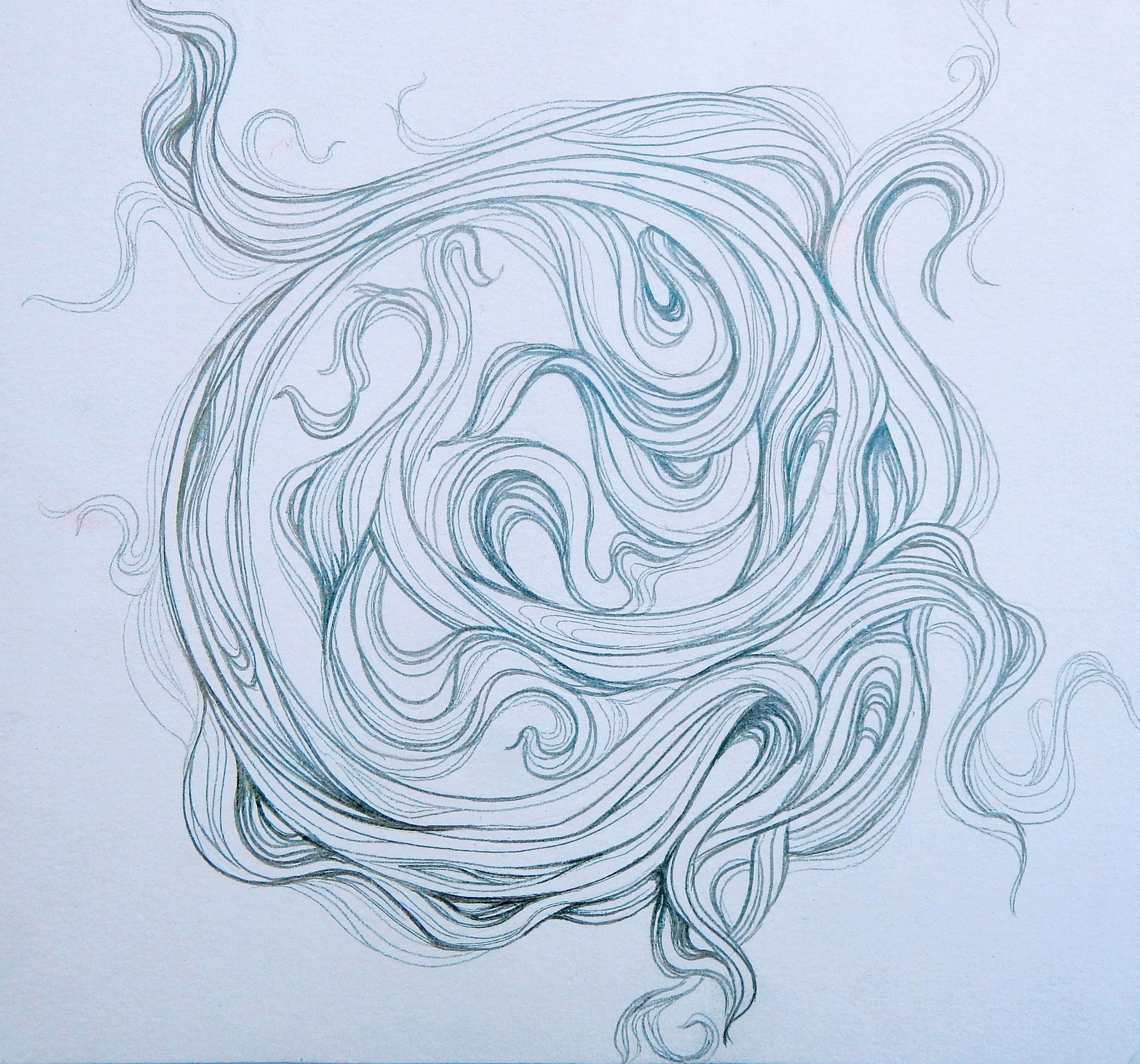 Hair Mandala II
