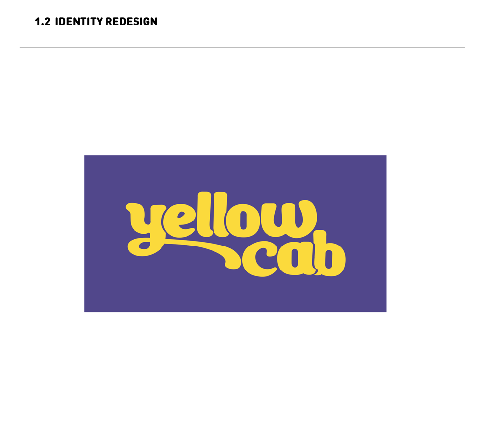 LOGO REDESIGN:  Yellow Cab SF is all about community and cooperation. I wanted to reflect that spirit in a friendly, modern identity that reflects the enduring free spirit of San Francisco.