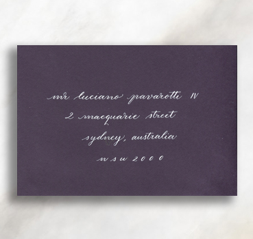 PETITE SCRIPT   Characterized by its uniquely lowercase alphabet, this airy option is great for the understated & elegant.