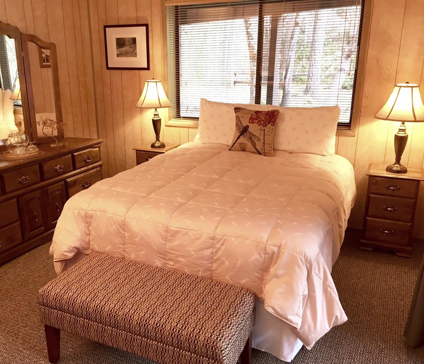 Downstairs Lake Bedroom