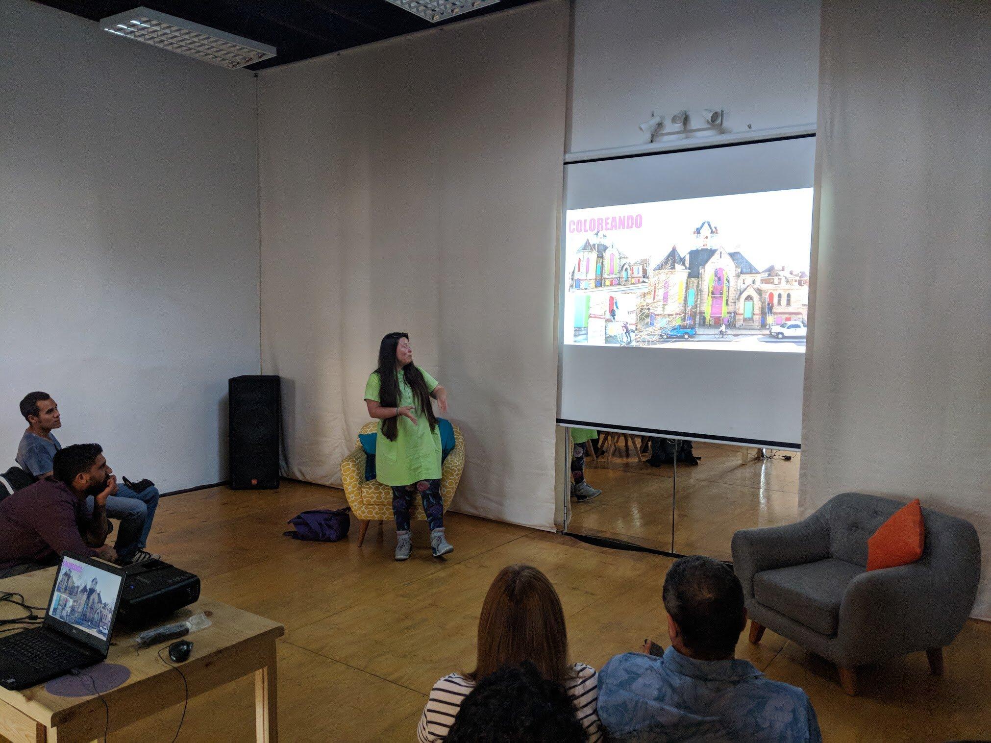 YAKU in Lima, Peru - 22 de Diciembre 2017 en la casa cultural Amaru, Barranco