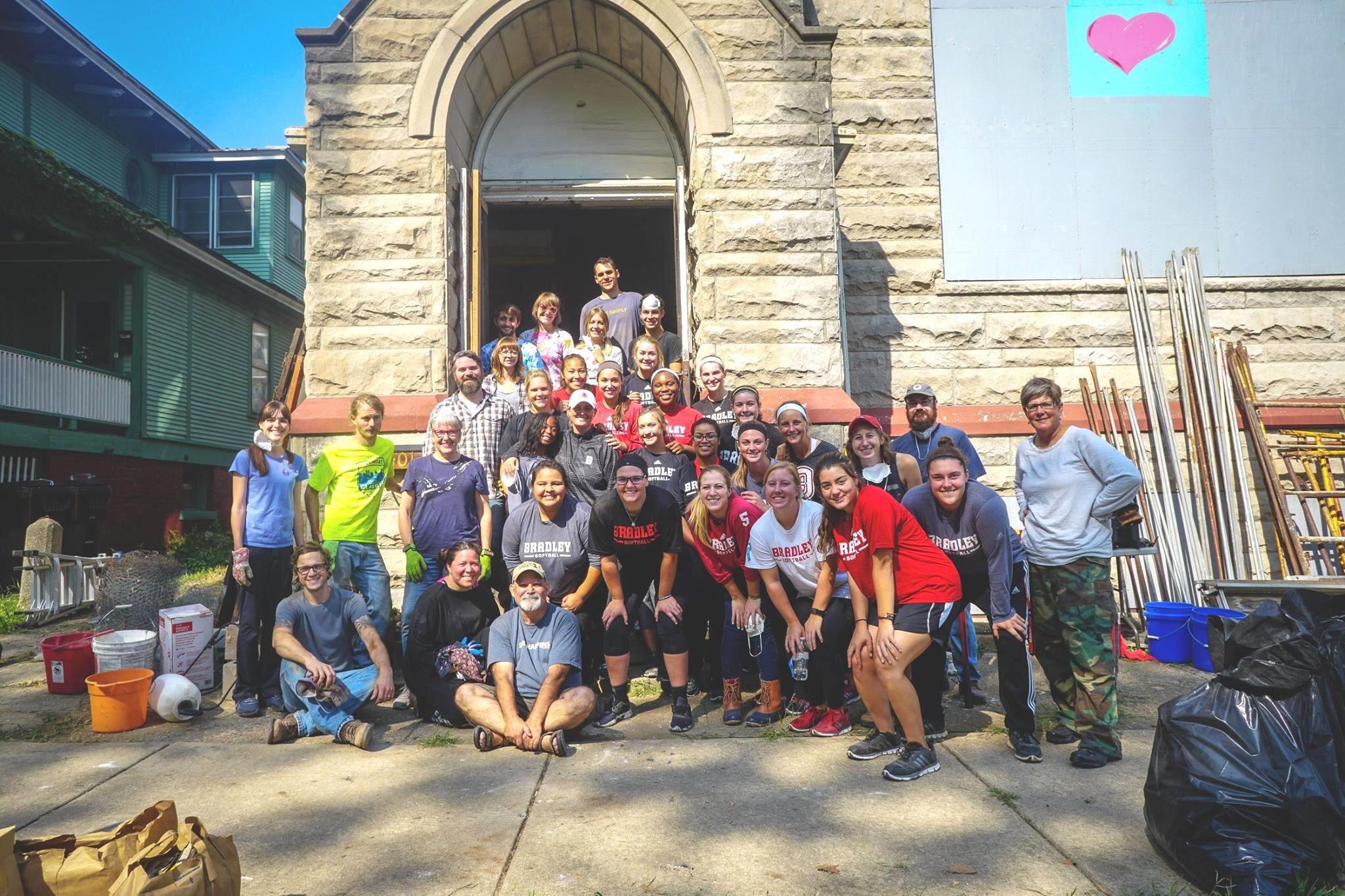 CHURCH CLEAN UP -