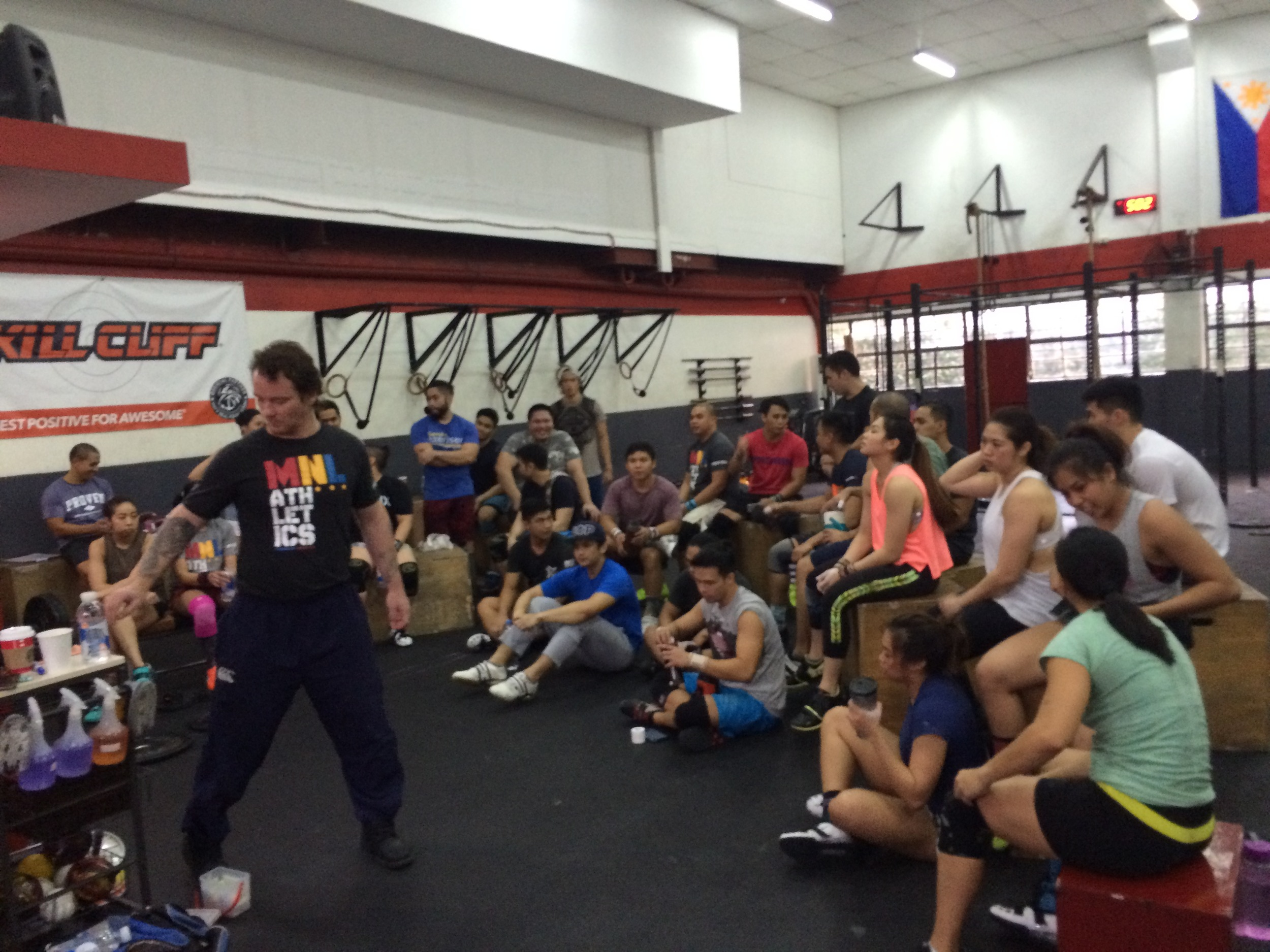 Donny shankle weightlifting seminar