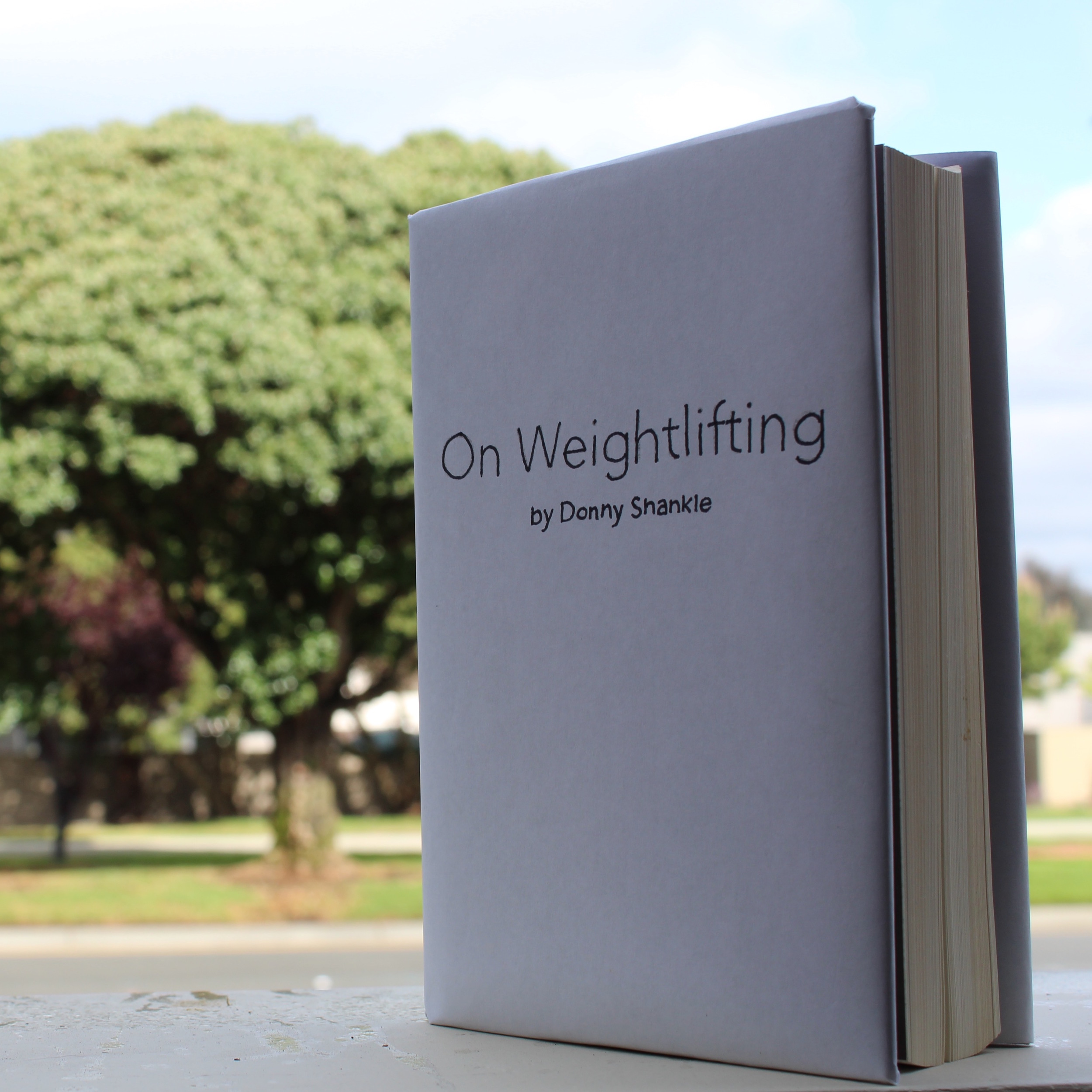 On weightlifting by donny shankle