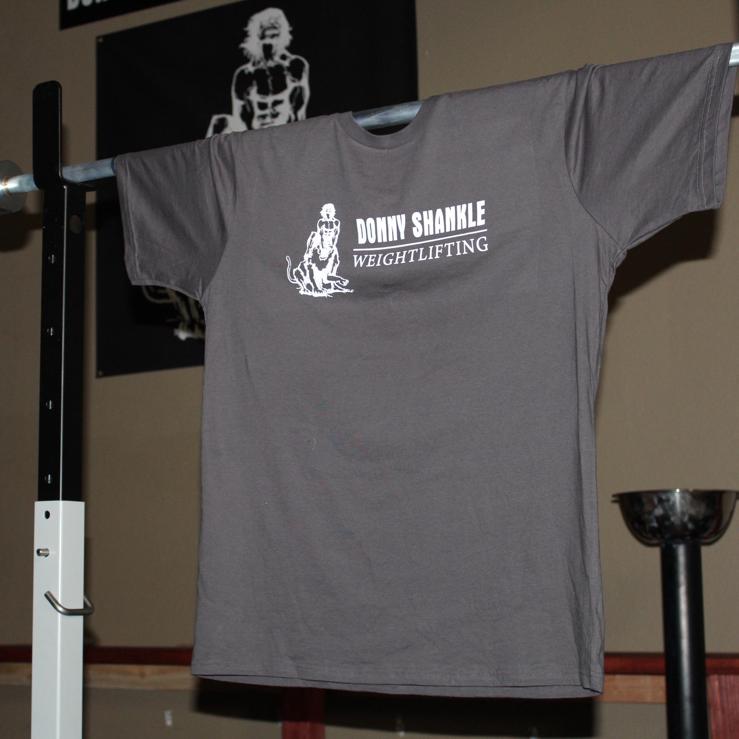 Donny shankle weightlifting mens T-Shirt