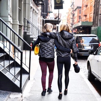 Peace out, NYC! 👋🏼 @rebeccahajekyoga and I are taking a break and heading upstate for an awesome weekend of self care:  fresh air, sunshine, yoga, meditation, hiking, music and fantastic friends. 🌿🍃☀️🌊🎶. Rebecca has been a big part of my #journeyintosound.  From the very first day we met several years ago, I shared my thoughts around using music to address a deeper human need, and she was totally up for experimenting with me. 🙌🏼💛 We figured yoga and meditation were both great places to start, and that's taken us from DJ takeovers at @pureyoganyc to the rooftop of @mrpurplenyc to musically enhanced yoga with @thrive to visually enhanced and immersive sound experiments with @lightboxnyc and most recently our mini retreats upstate in #BeaconNY.  These experiments together were so informative and motivating as I began my research in music and wellness and forming some concepts around music's physiological power.  It's allowed us to grow into great pals and have a lot of fun along the way (not to mention her yogi wisdom has brought a lot of sanity and emotional relief along the way 🤪). This weekend has a ton of awesome things in store:  meditation + yoga led by @rebeccahajekyoga 🧘♀️ / sounds by yours truly 🙋🏼♀️ / hiking up #mountbeacon ⛰ / plant based meals sourced from our favorite, local @commongroundfarm 🥬🥕🍅 and prepared by our favorite chef @lavenderandtruffles 🥘 / visit to Beacon town favorite @hudsonvalleybrewery 🍻 and good old fashioned human connection 💑👫. Big thanks to @emmysorganics for the tasty snacks and @malinandgoetz for the wellness goods. 👌🏼💕