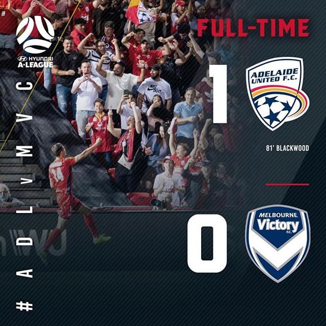 Images for the @adelaideunited half time and full time score graphics nicely shot by sko's resident photographer @samuelwlacey