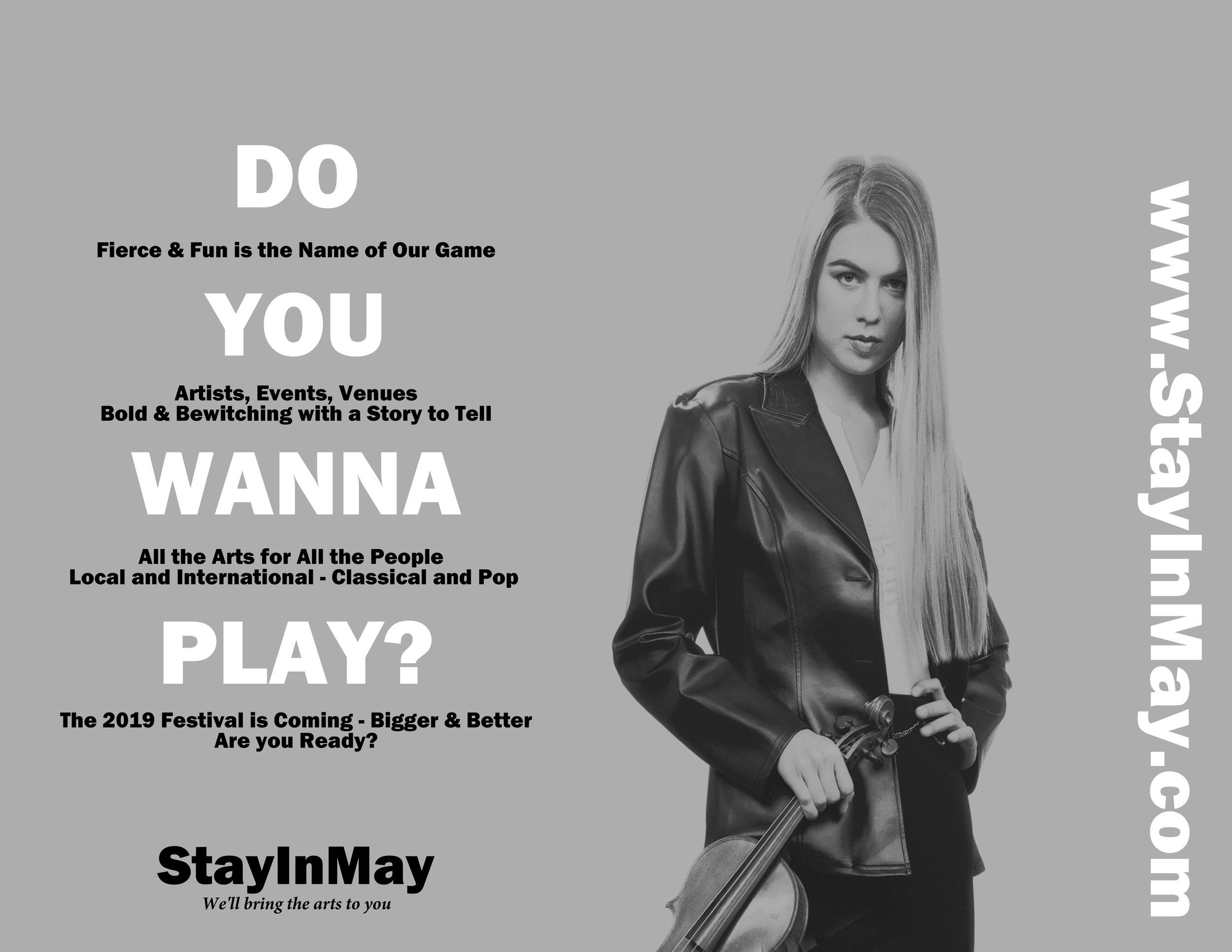 DO YOU WANNA PLAY FLYER