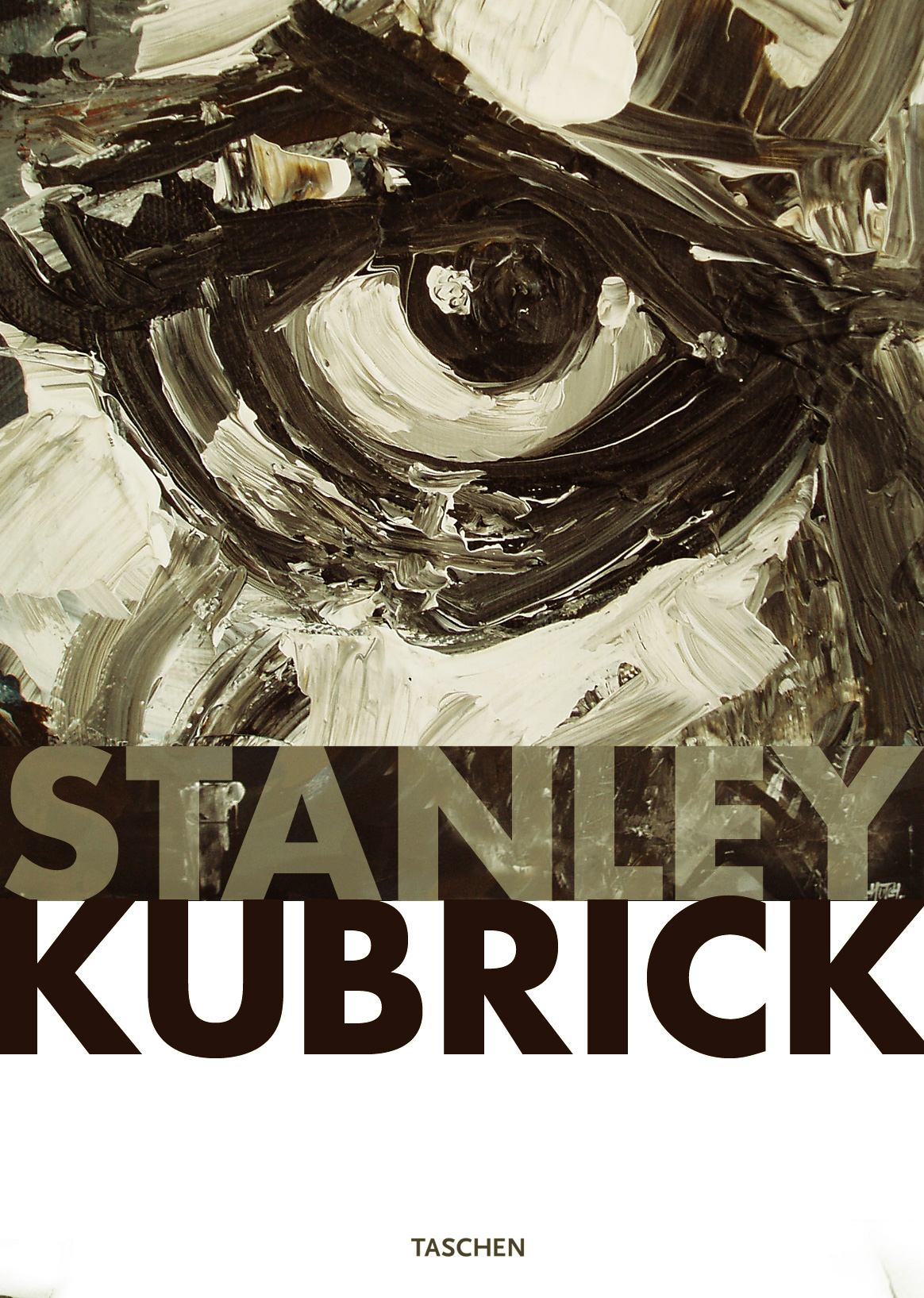 Big fan of Stanley Kubrick.  This is a book cover design using a close up of one of my paintings