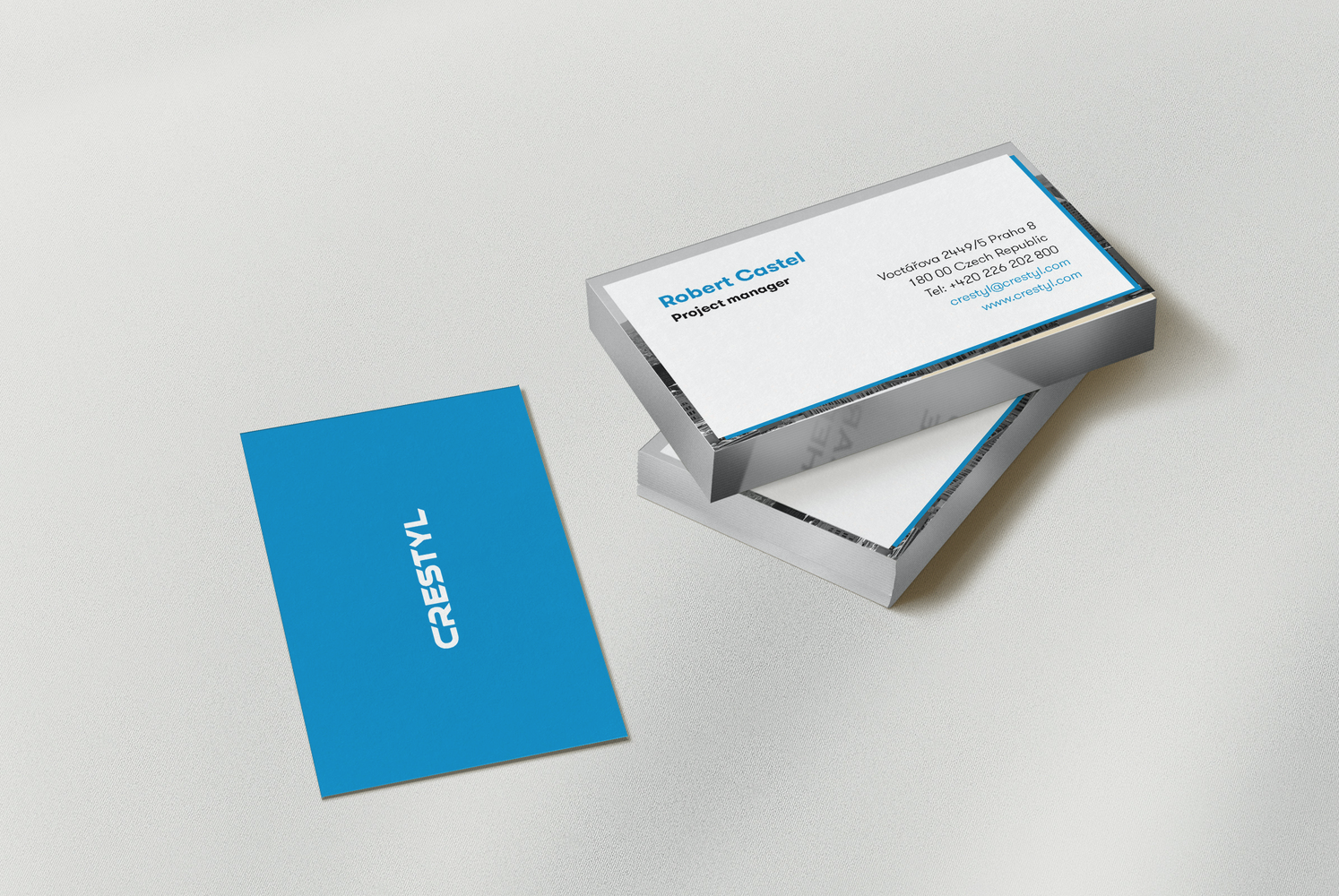 Branding for CRESTYL Reality company  Prague, Czech Republic | 2015