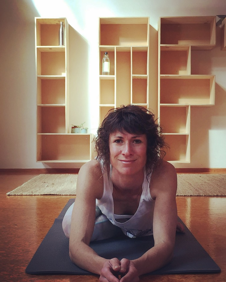 """Anna March - Facilitator   Mum, registered nurse and yoga teacher, Anna is one of the founding partners of the Raglan Yoga Loft. She has been practicing yoga for over 16 years. Her Yoga journey started here in Raglan and has taken her to London where she spent 4 years practicing at Triyoga with Panilla Marott and Jeff Phenix. In 2007 she went on to do her 200 hour Yoga Alliance RYT with Tias and Surya Little of Prajna Yoga, Sante Fe, USA. Over the last few years she has been exploring the teachings of Tara Judelle which has inspired her to commence her 500 hour RYT training with Tara Judelle and Scott Lyons of Embodied Flow.  Anna loves to impart the joy of practicing yoga in her classes. She enjoys to playfully challenge her students and incorporate breath-led-movement. She seeks to impart the meaning of yoga - """"To bring about union/ unity/ balance"""" through her classes - balancing stability with flexibility, strength with softness, active doing and passive letting go. Thus encouraging a practice which is both enlivening, centring and calming."""
