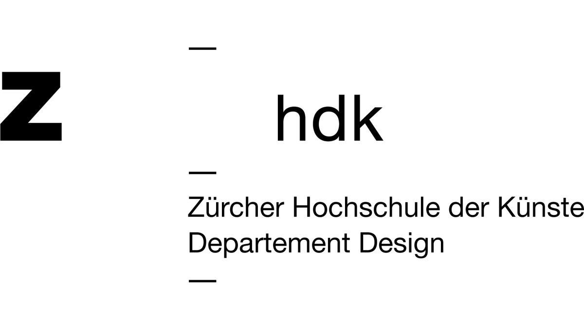 ZHdK Departement Design – Sonderschau