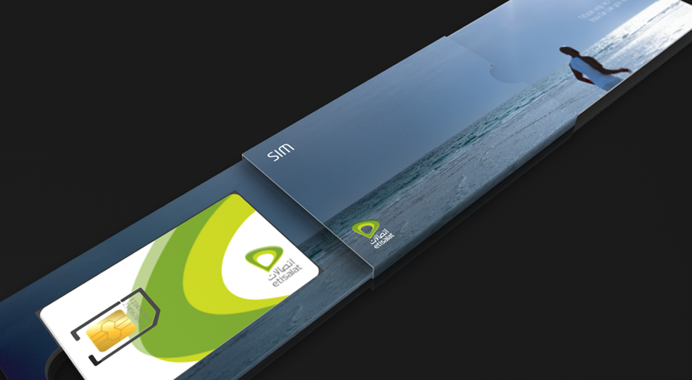 Etisalat's SIM card design and packaging    VIEW CASE STUDY >