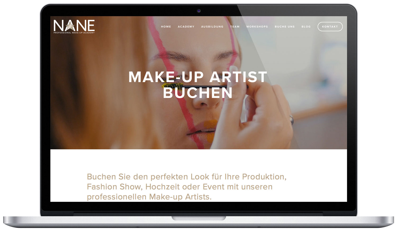Make-up Artist buchen