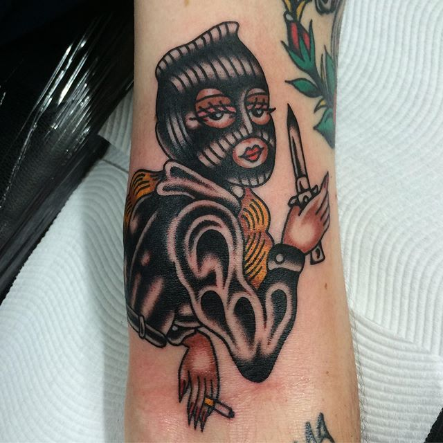 Thanks Adam. Made at @mans_ruin_tattoo .For bookings email luc.ace@live.com.au your ideas or mine.