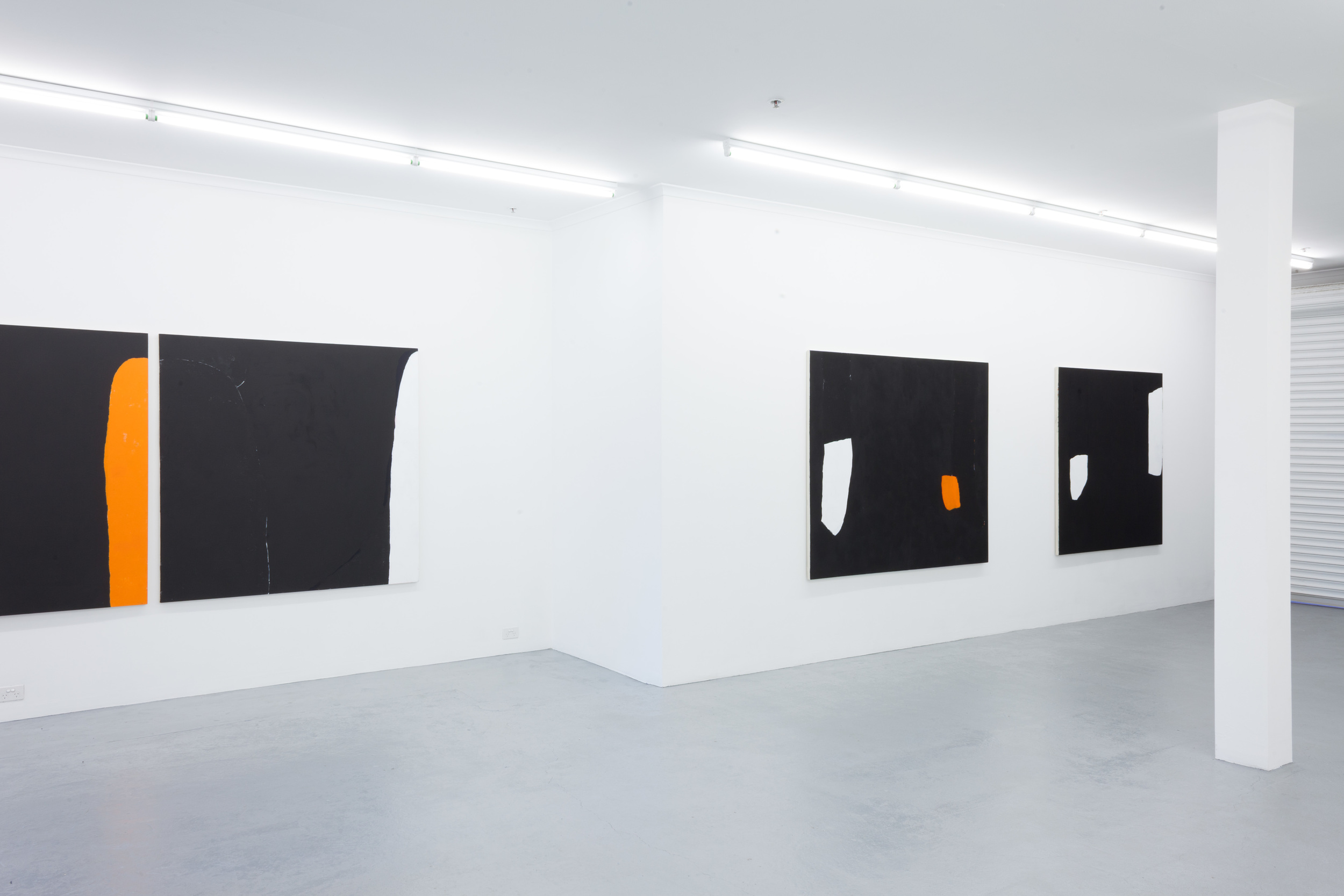 Hayley Megan French,  See Where it Drifts , installation view, Galerie pompom. Photography by docQument.