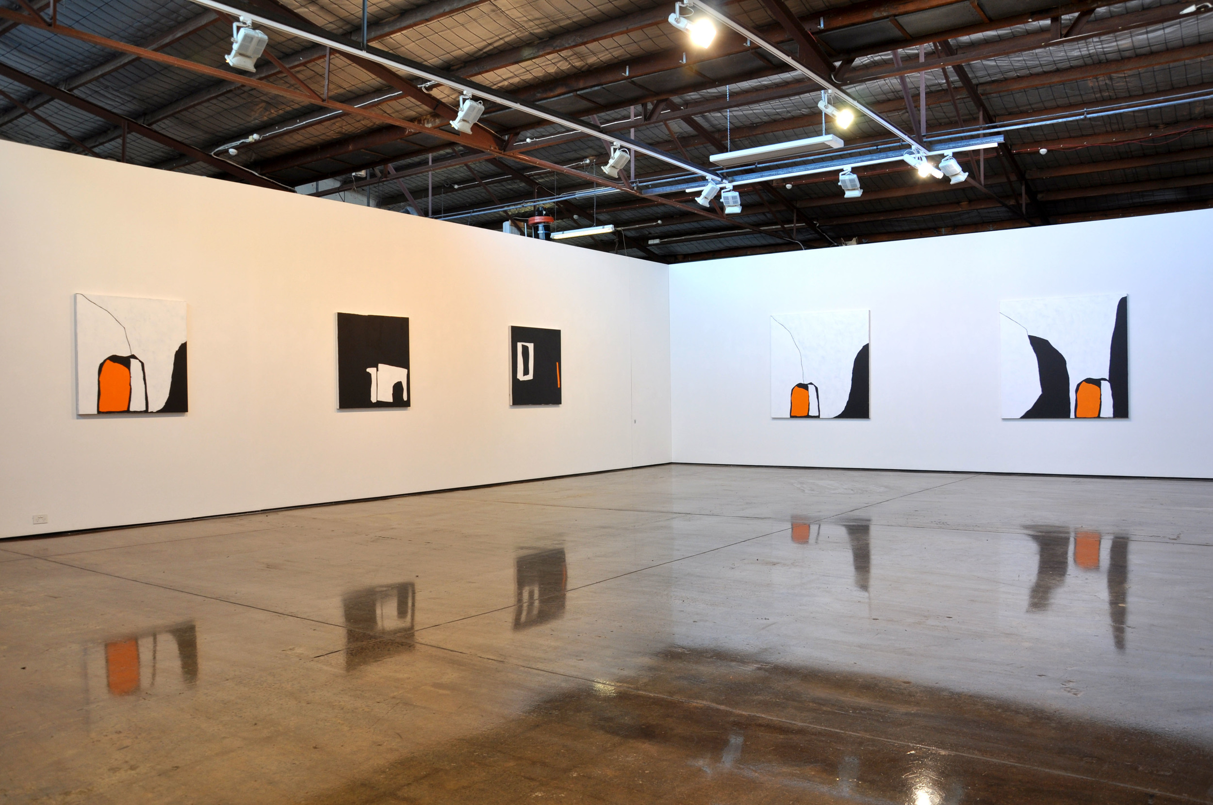 Hayley Megan French, installation view