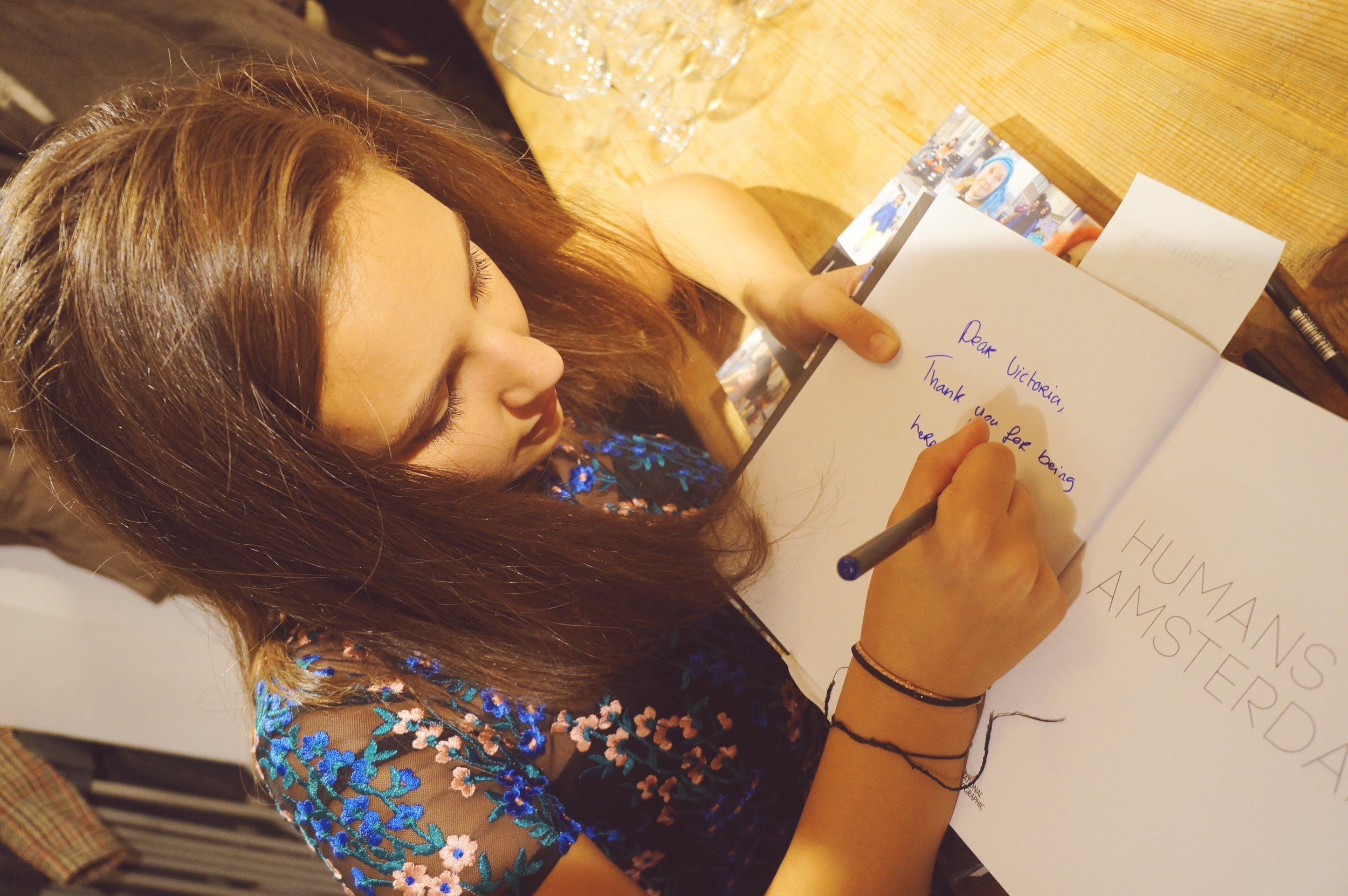 Debra signed my copy! :)