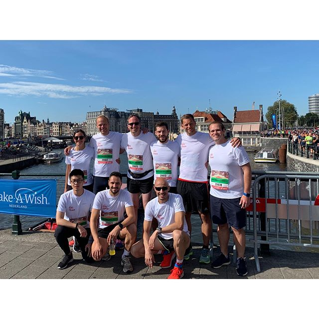 What a gorgeous day for @damtotdamloop! Wishing our colleagues from #ONEGSC a fun run! Good luck, guys! #DamtotDamloop #Amsterdam #16kmrun #nofilter
