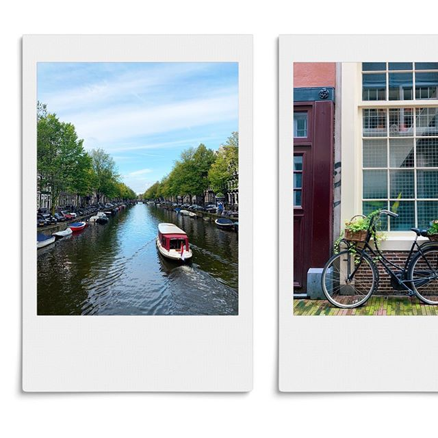 Just another #autumn day in #Amsterdam. Took these #photos on my way to the doctor today. Even if it rained all day, this city is just so beautiful. #home #Netherlands #wanderlust #travel #polaroid #negenstraatjes #Keizersgracht