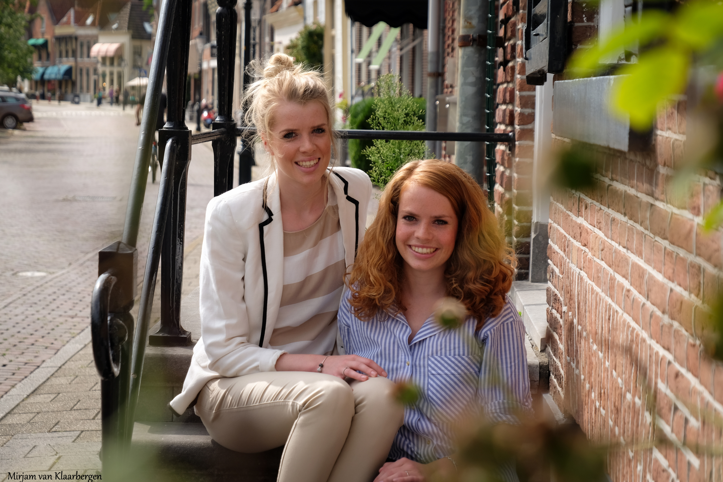 zussenshoot Anne-Mary en Charlotte