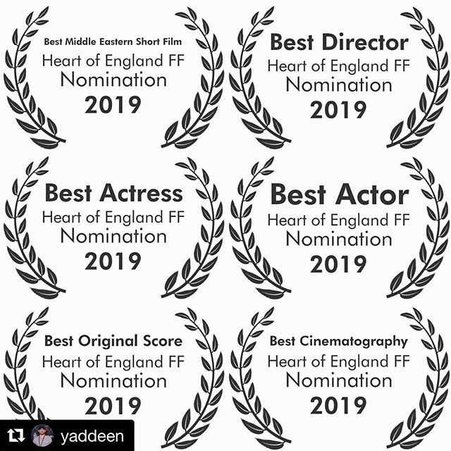 #Repost @yaddeen 🥂🥂🥂🍿🍿🍿 ・・・ @cargafilm has just been nominated for SIX awards at Heart of England Film Festival! Screening on June 8th at 13:00 at the Square One Cinema in Coventry. 🥂🍿🥂 #cineespañol #thrillermovie #ukfilm #cortometraje #horrormovies #cargafilm #crypttv #shortstv #supportindiefilm #independentfilm #iraq #kurdistan #slemani #spain #filmfestival #shortfilm #filmreview #creepypasta #horrornews #horrorhound #moviemaker #filmmaker #filmmakerslife #keepfilmalive #filmcommunity #squareone #filmmaking