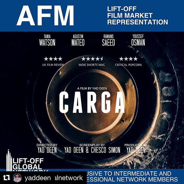 #Repost @yaddeen ・・・ It's official! Carga (@cargafilm) is going to be represented at the @americanfilmmarket this month by @liftoffglobalnetwork. AFM is the world's largest motion picture business event. Carga (The Feature) could be closer than we anticipated!  #americanfilmmarket #afm #liftoffglobalnetwork #screenwriter #director #horror #horrornews #thriller #cortometraje #cinespañol #cinematografía #filmmaking #supportindiefilm #sonypictures #shortstv #filmin #kurdistan #kurdishfilm #iraq #slemani #gore #creepypasta #studiocanal #canalplus #littlewhitelies #lwlies #sightandsound #moviemakermagazine #a24