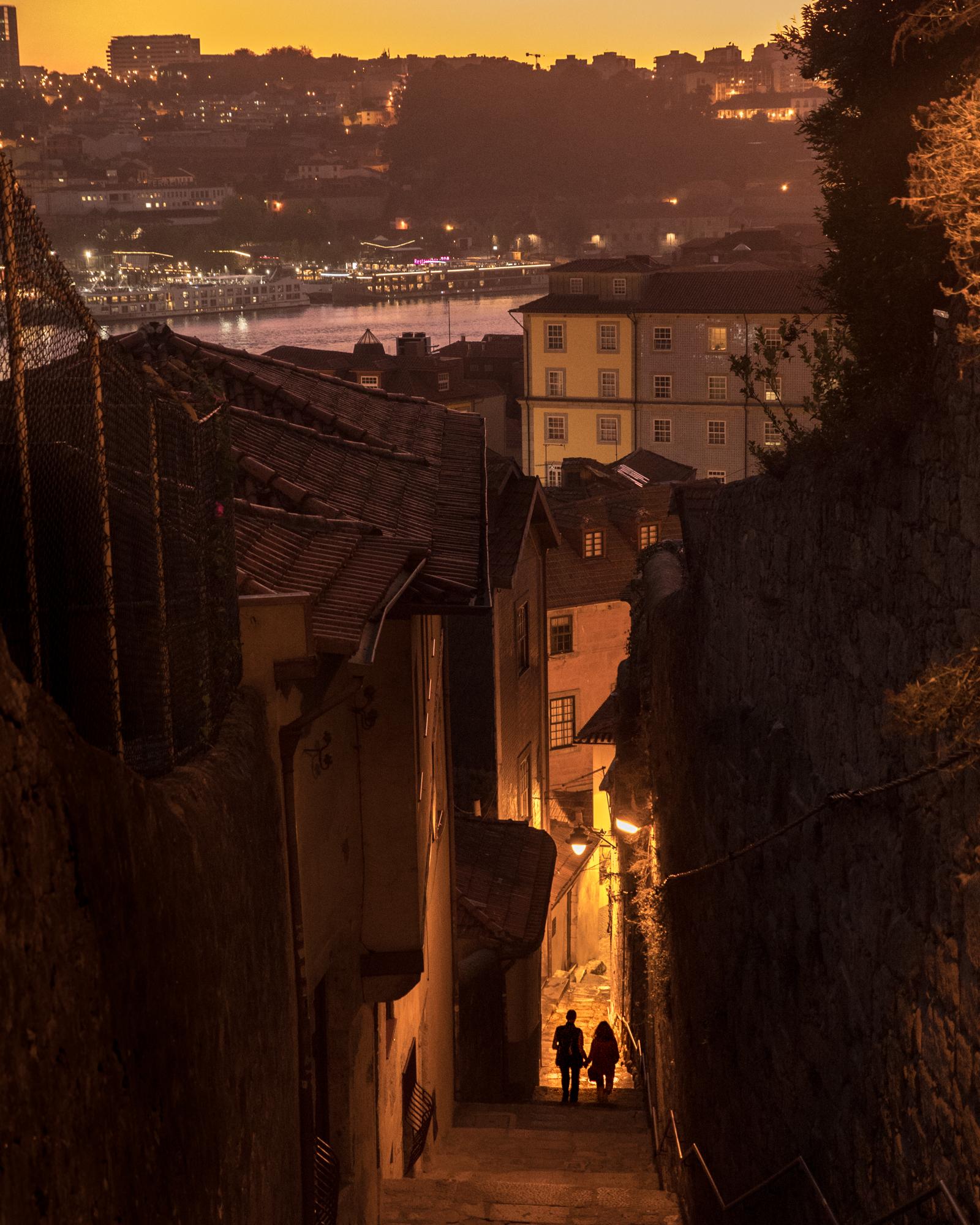Porto at night, 2017