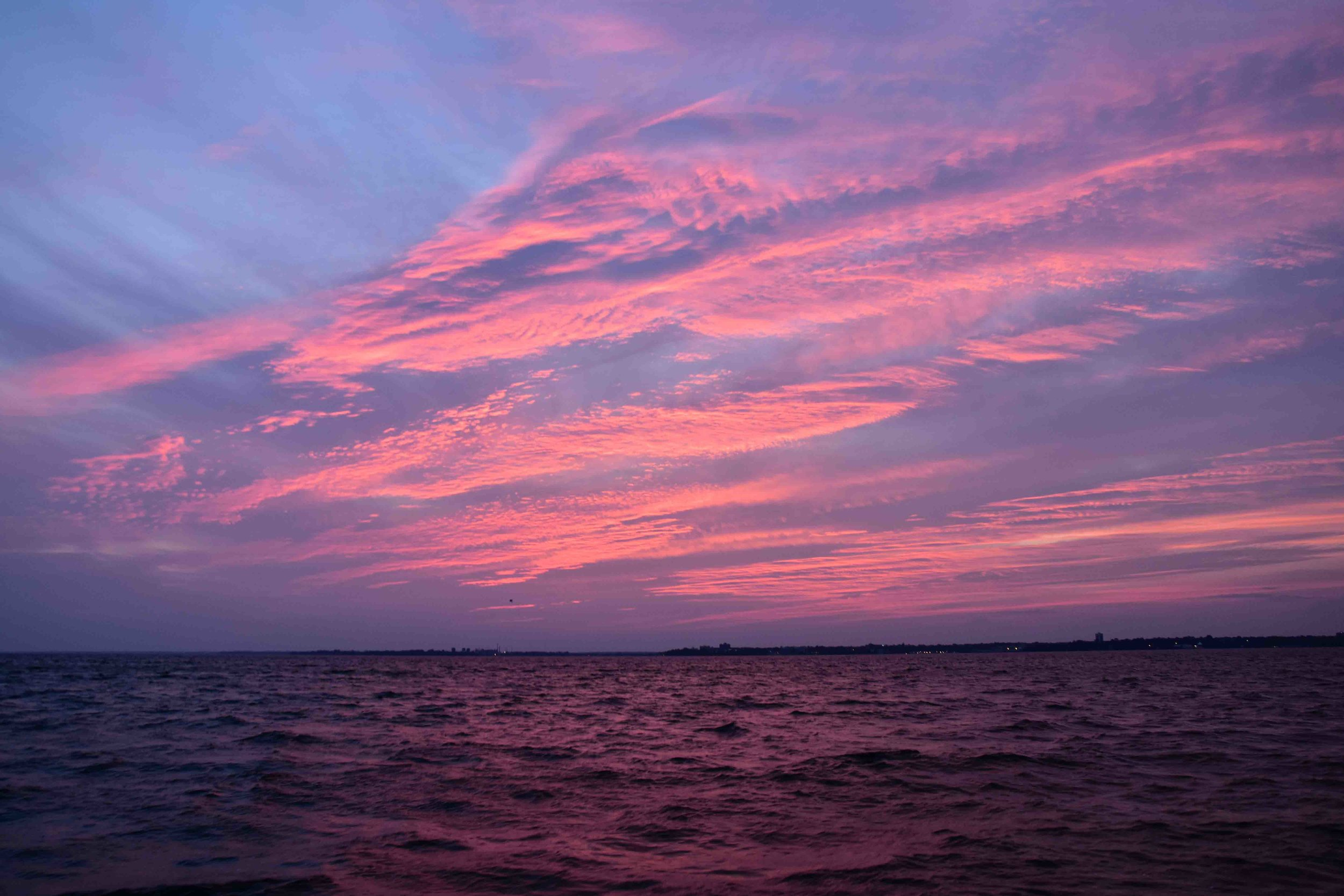 Sunset, Lake Ontario