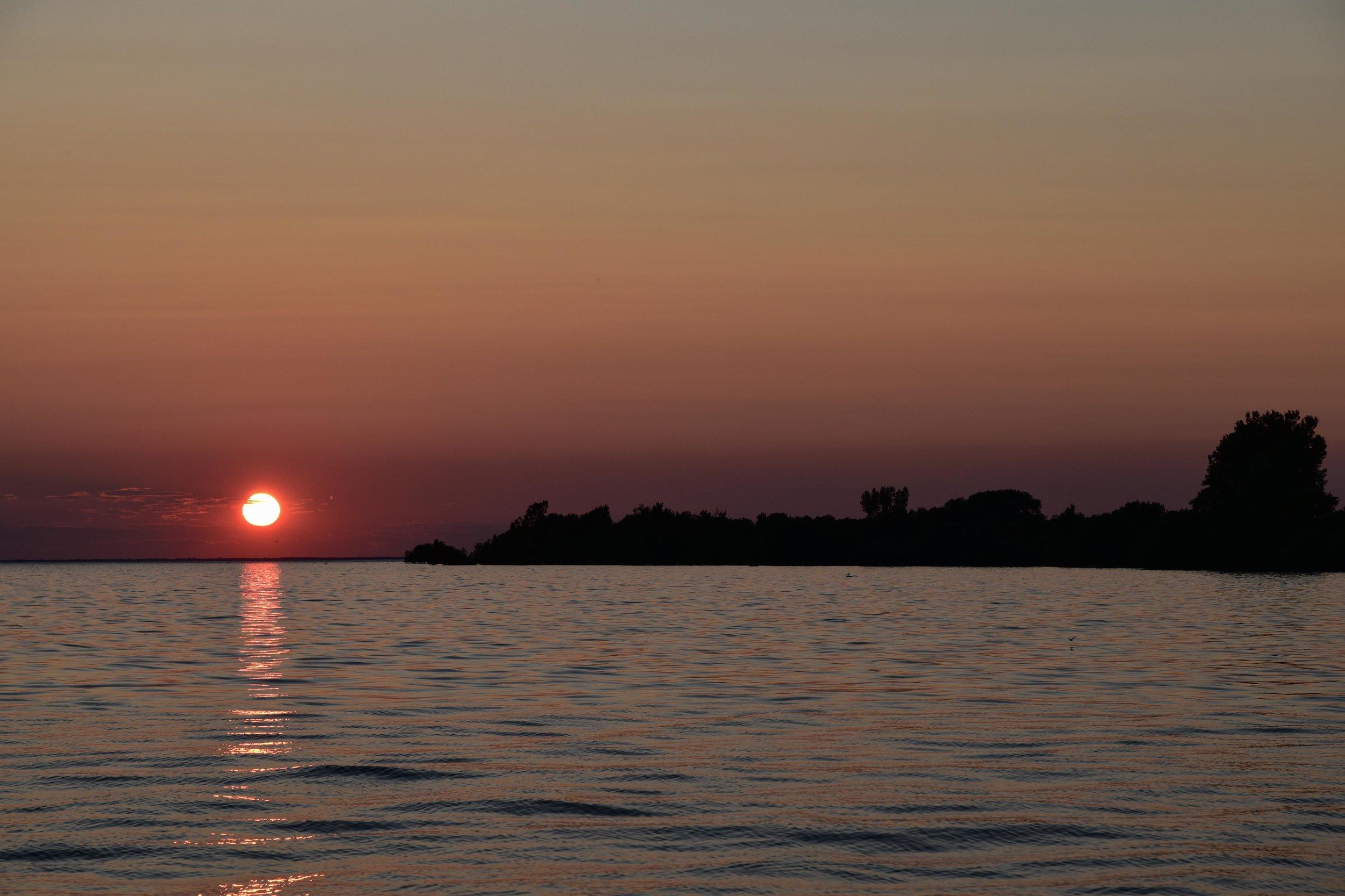 Duck Island Sunset, Duck Island, Lake Ontario