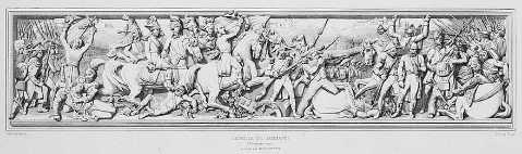 La    bataille de Jemmappes   , 6 November 1792